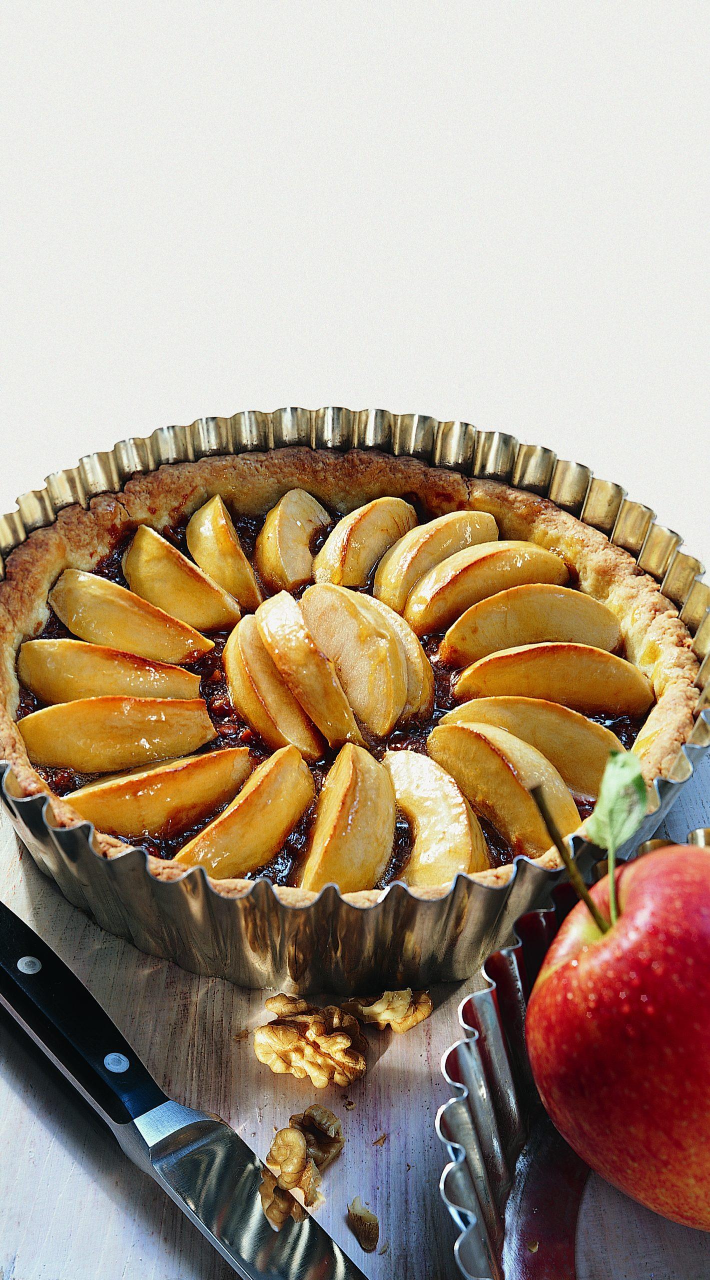Apfel-Nuss-Tarte
