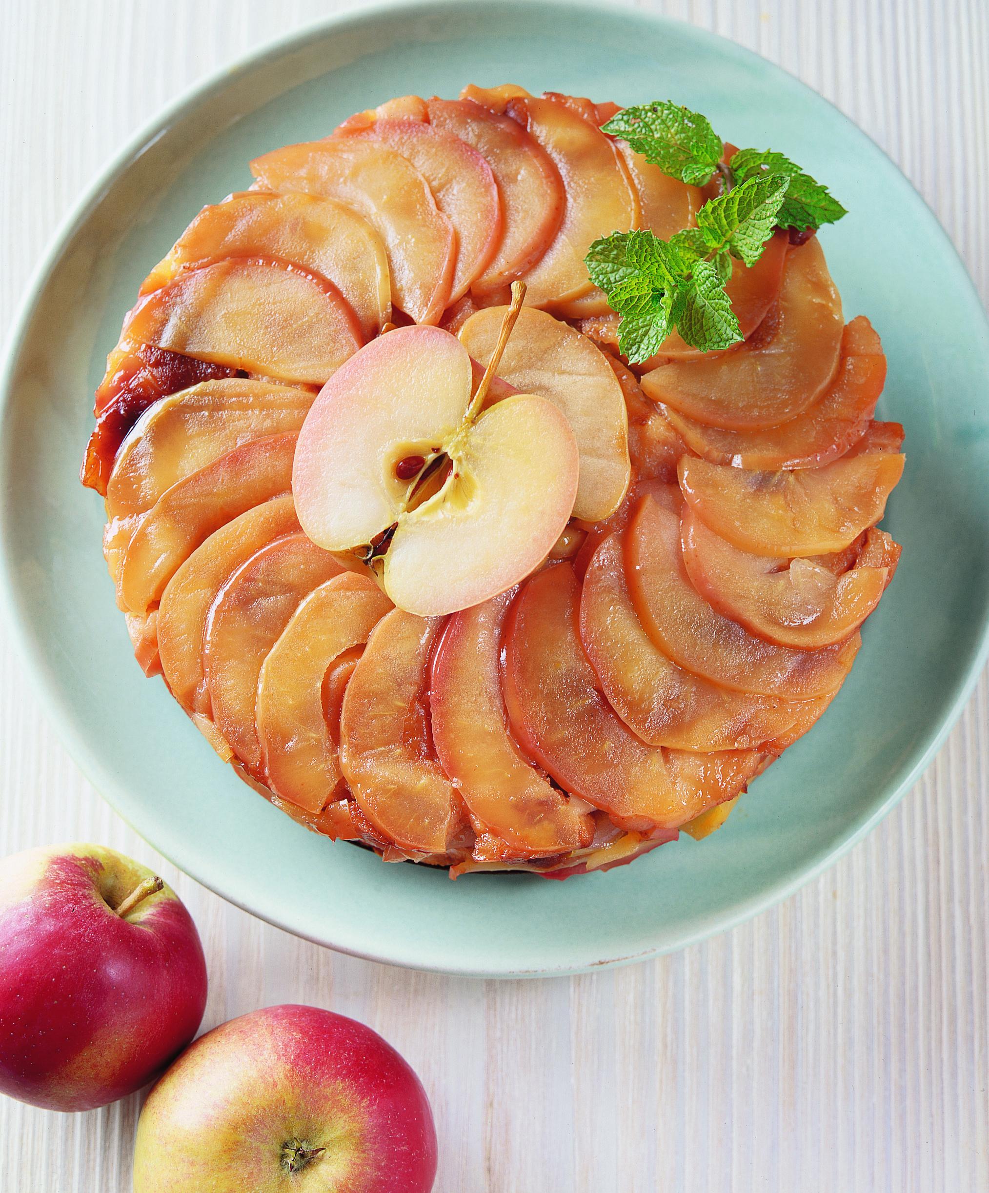 Surprise aux pommes et aux coings