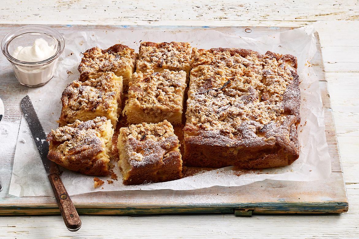 Apfel-Streuselkuchen
