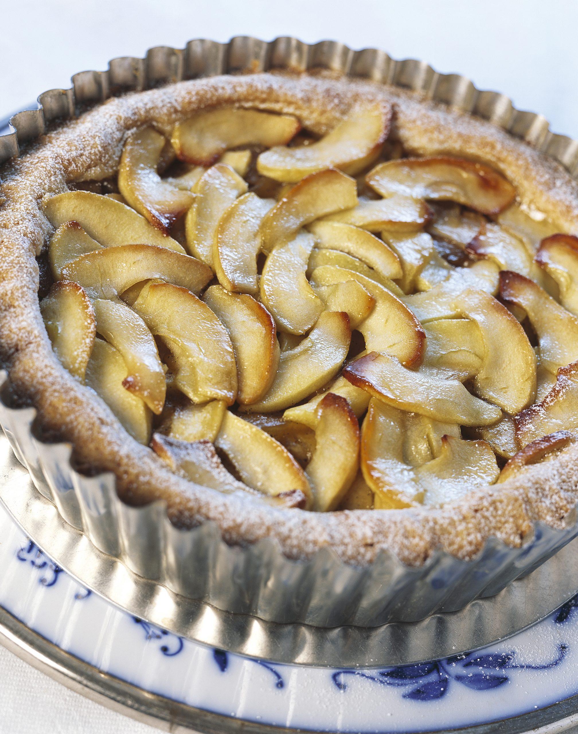 Apfel-Vanille-Torte