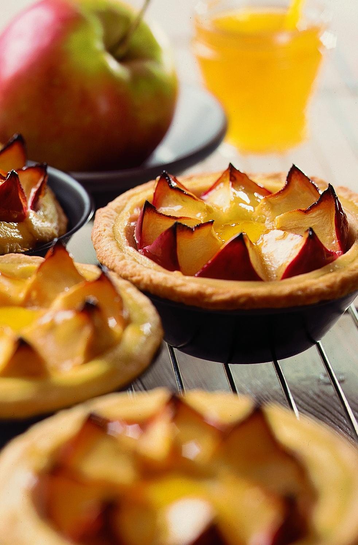 Tartelettes aux couronnes de pommes