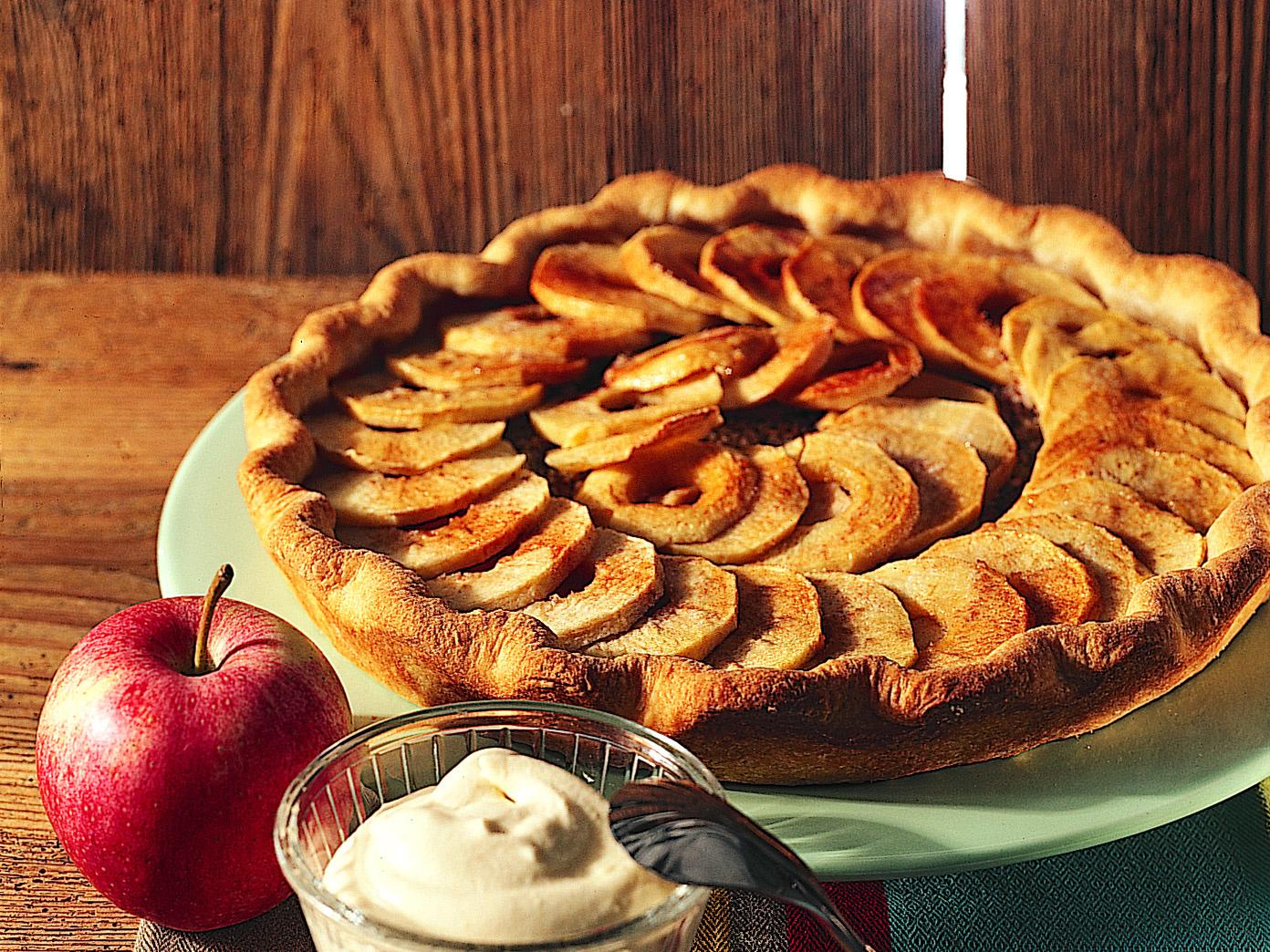 Apfelkuchen mit Dinkel