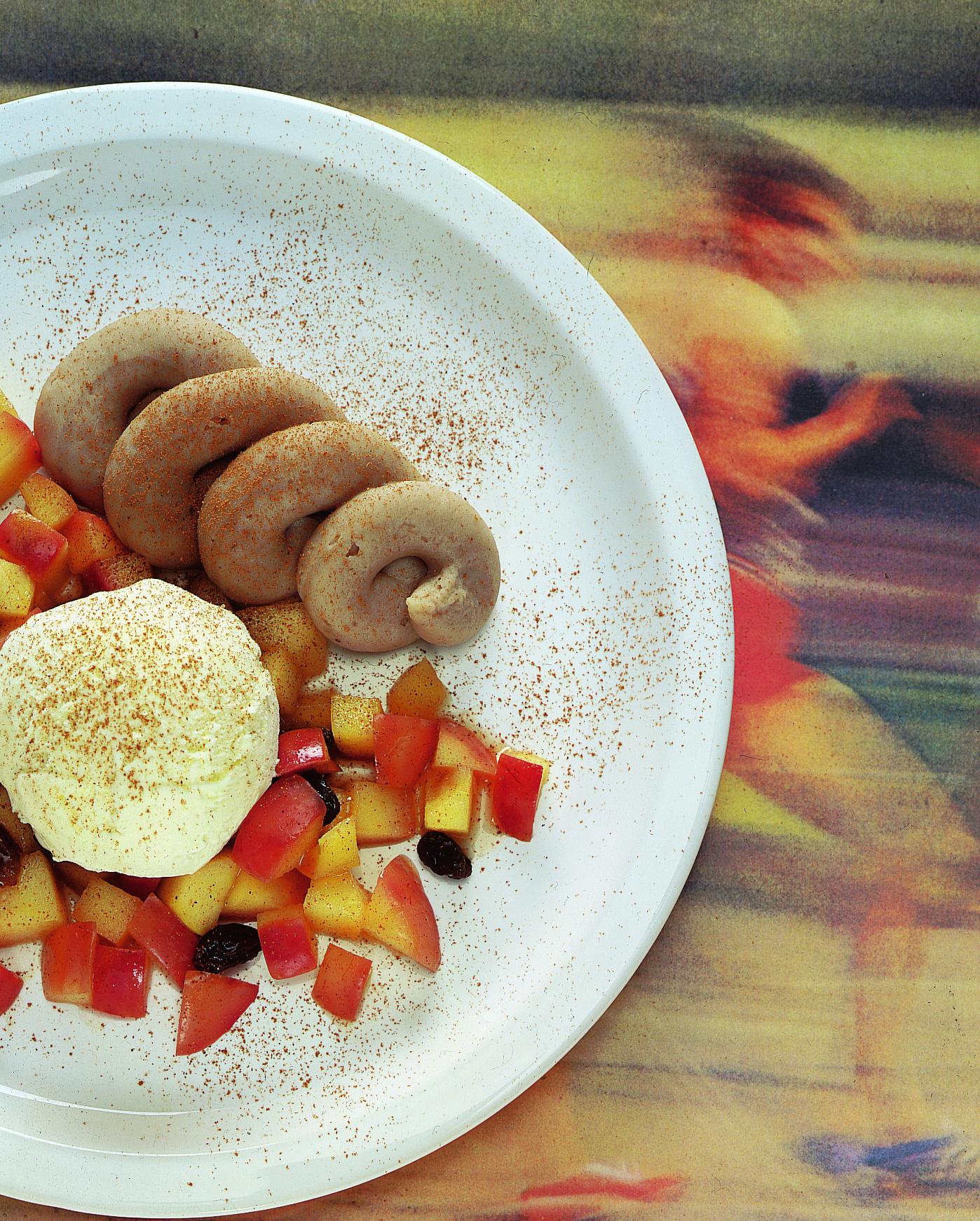 Pommes à la crème de marrons
