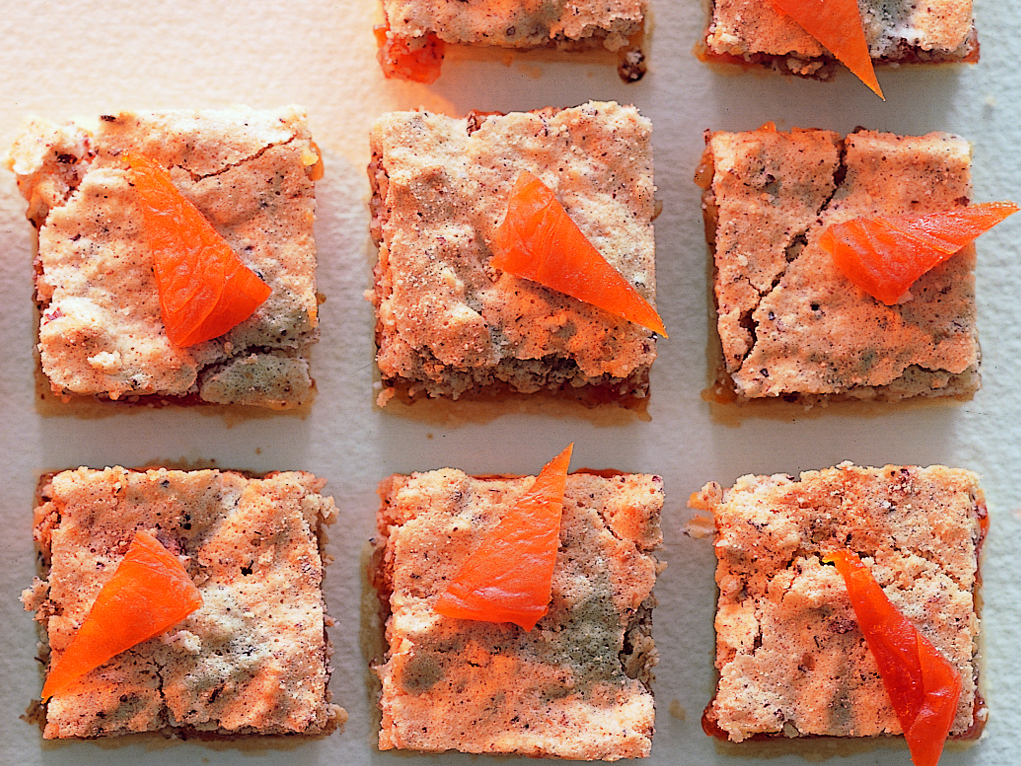 Biscuits aux abricots