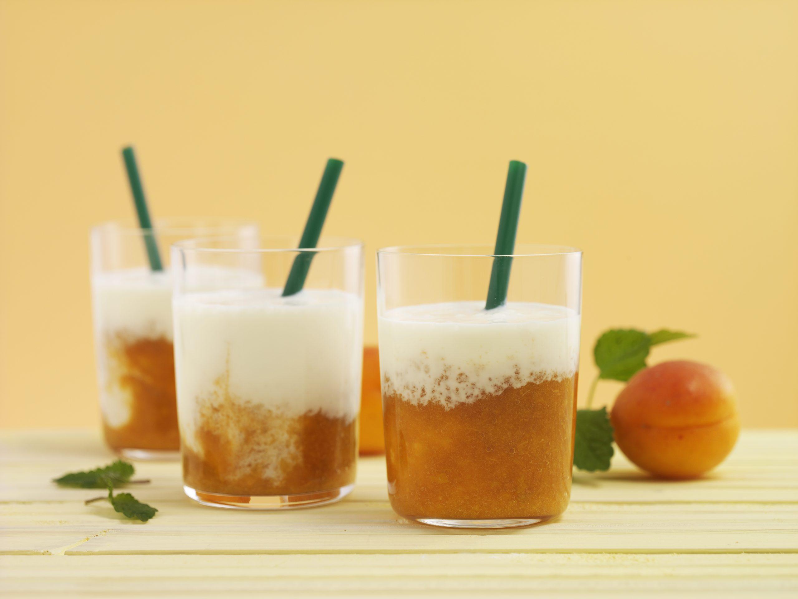 Aprikosen-Vanille-Smoothie