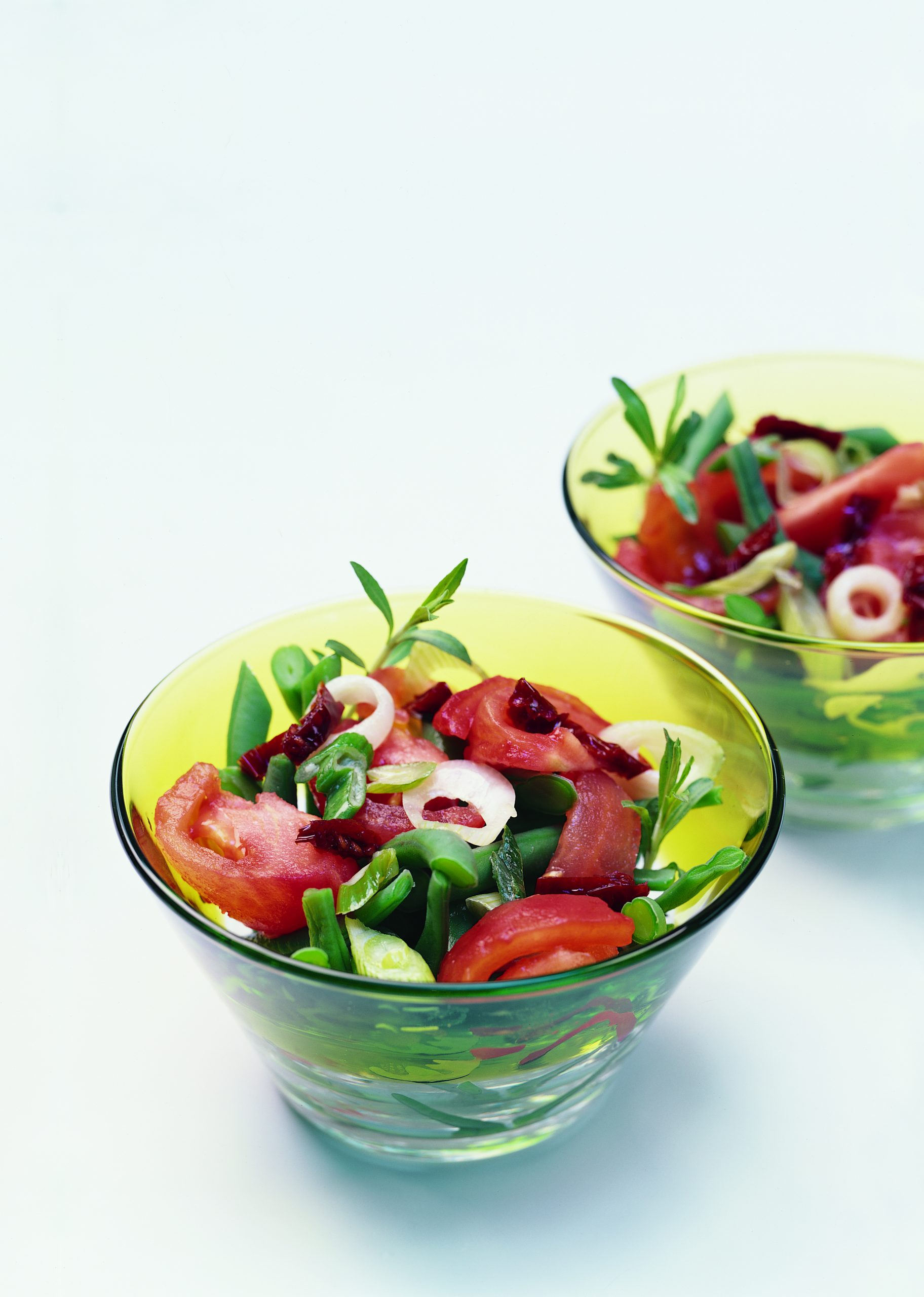 Haricots nains aux tomates