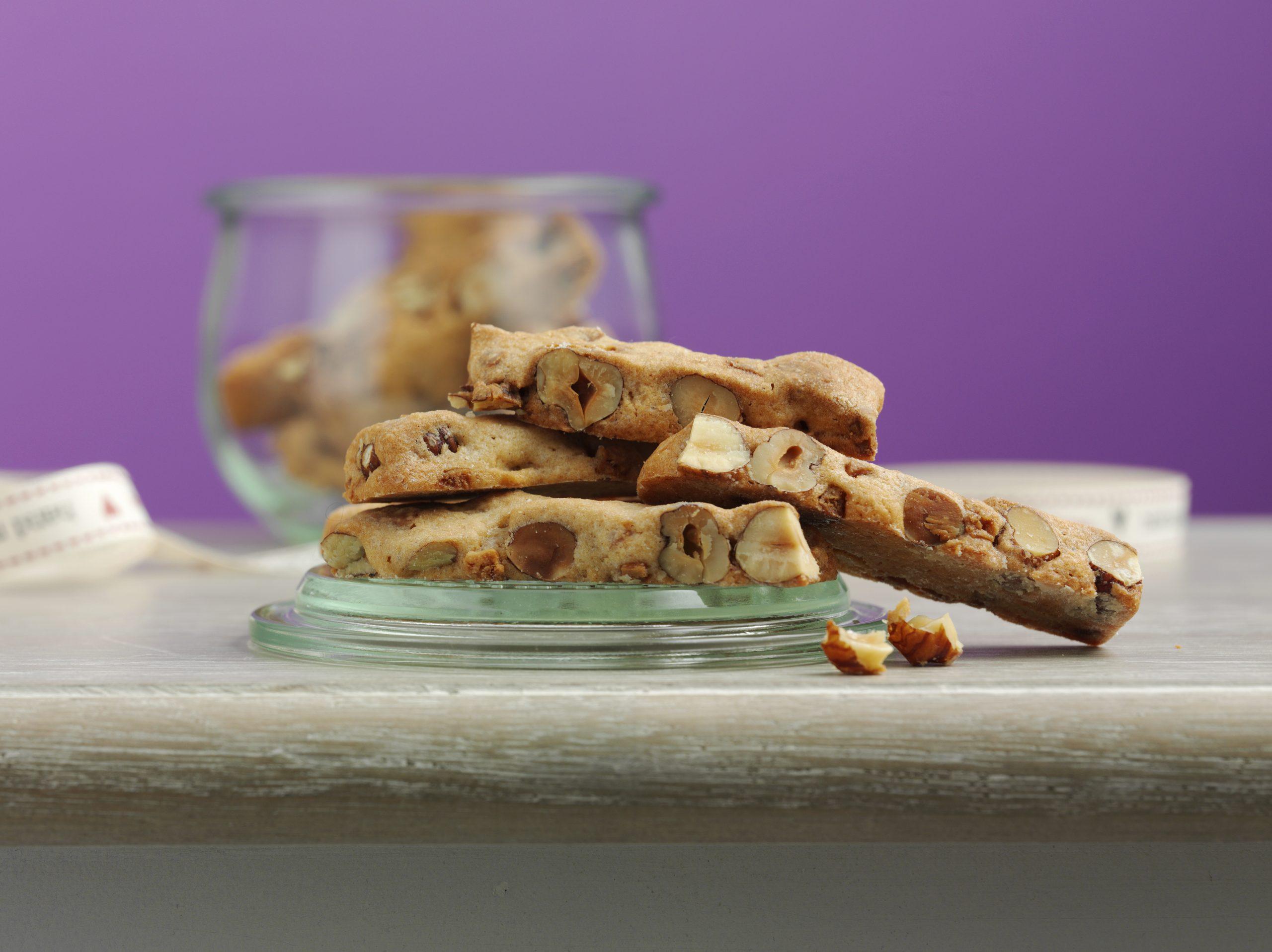 Bâtonnets noisettes-caramel