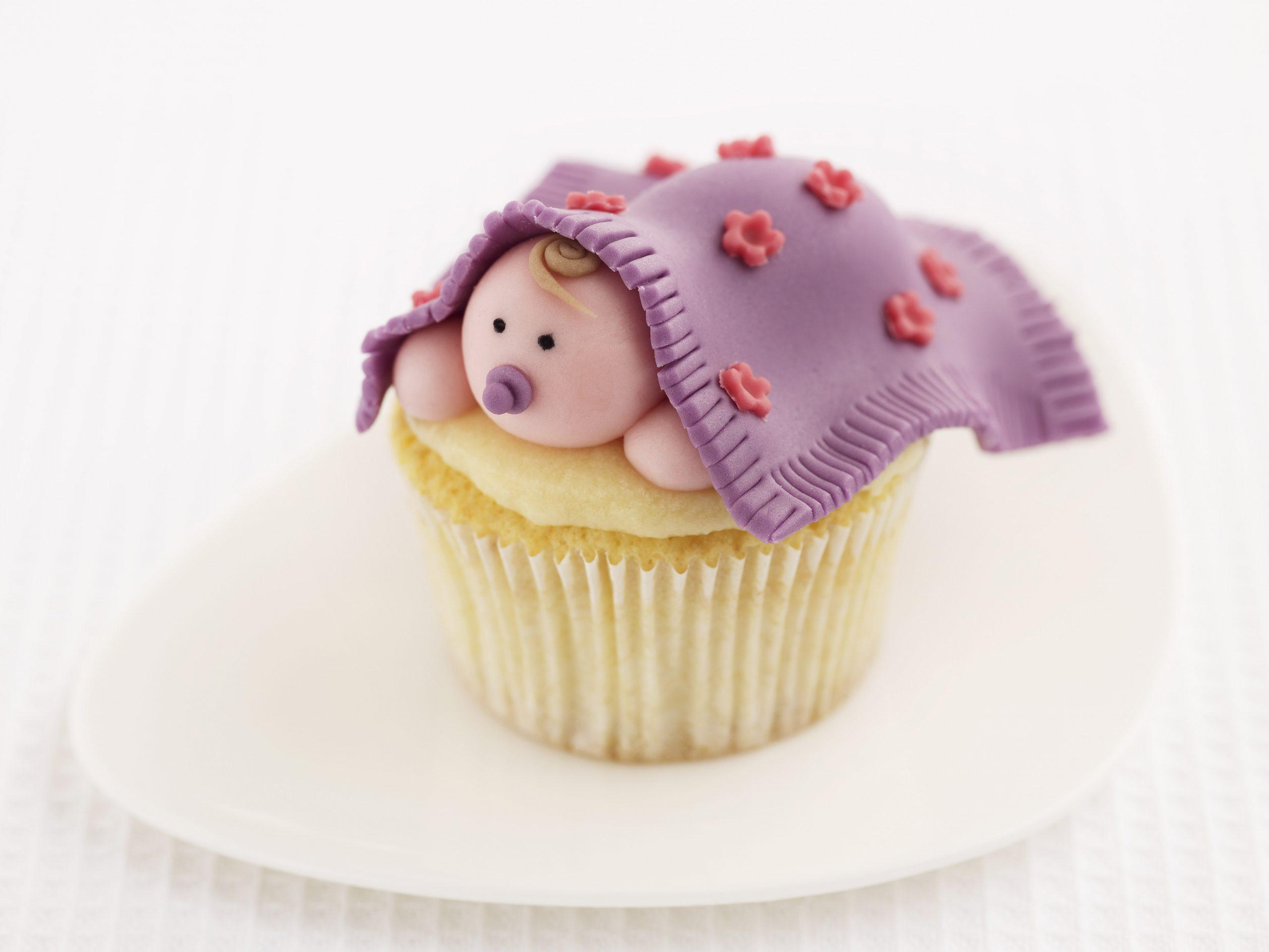 Cupcakes bébé