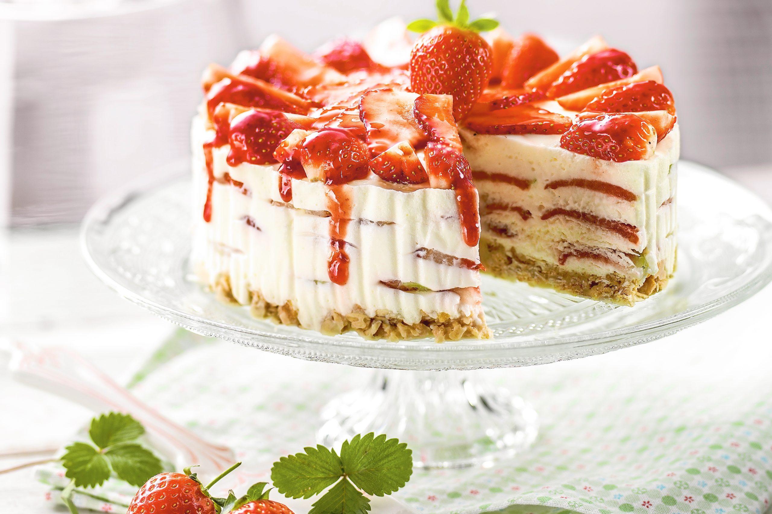 Erdbeer-Cheesecake