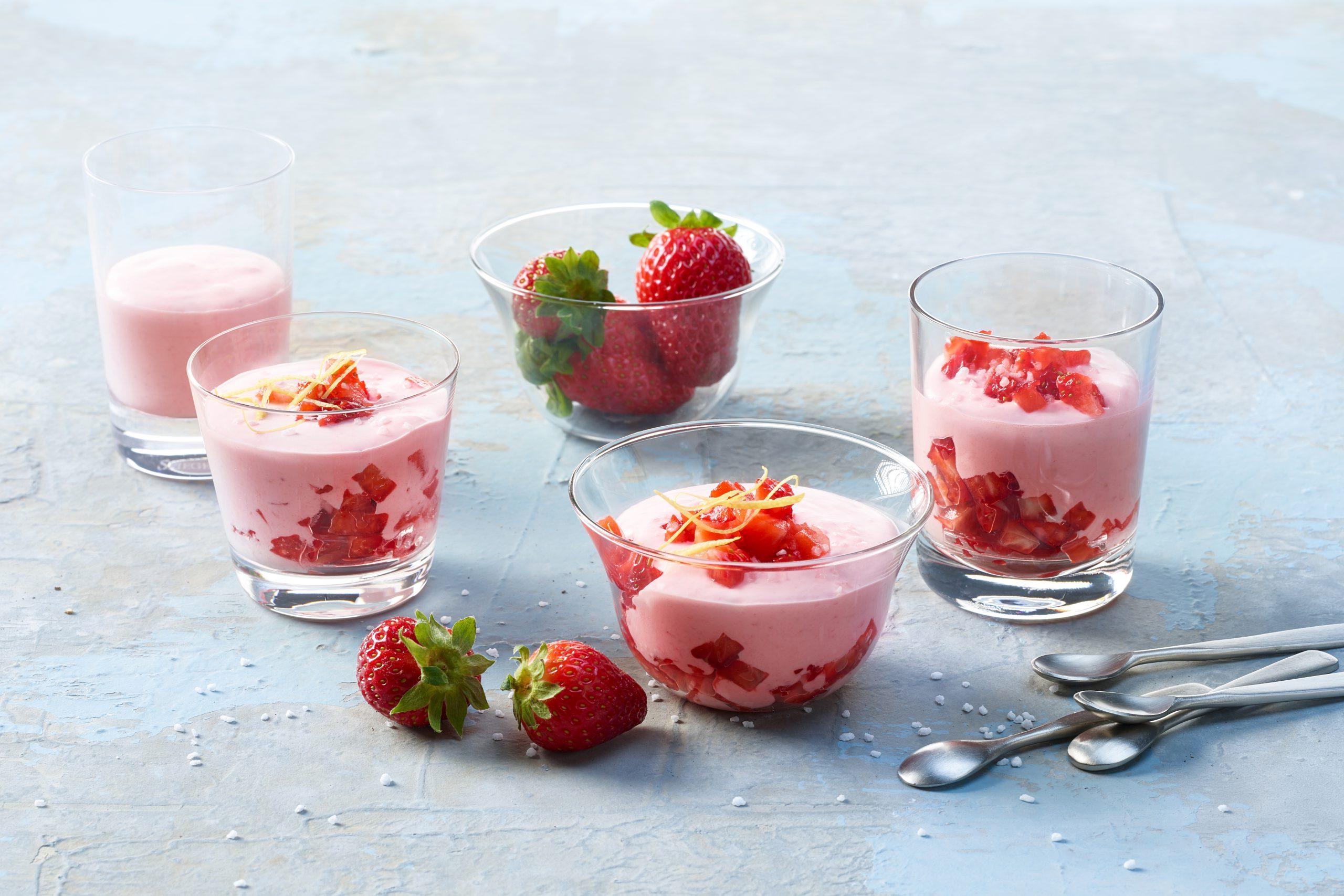 Erdbeercrème (Blitzrezept)