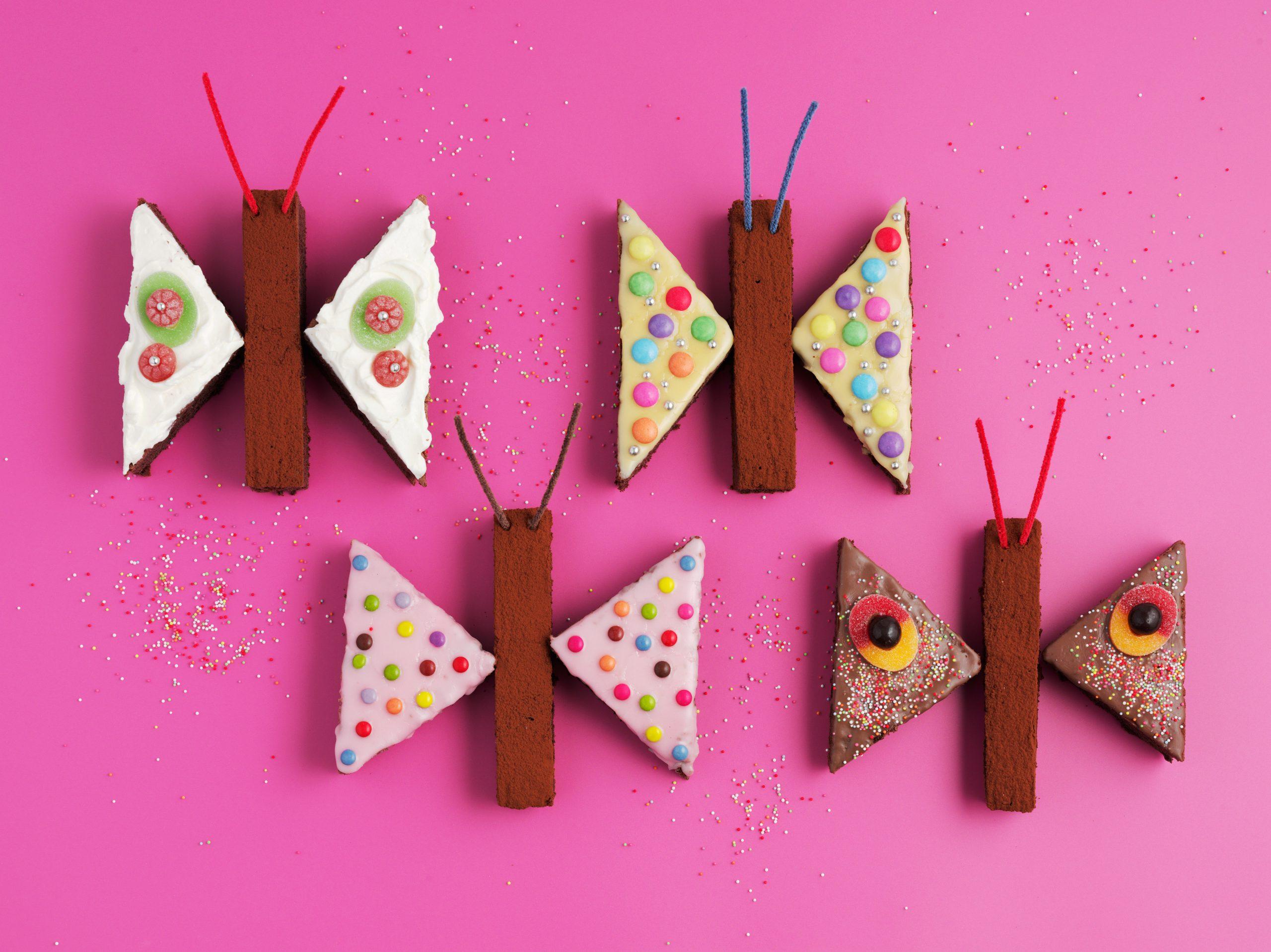 Geburtstagskuchen Schmetterlinge