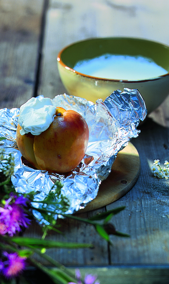 Pommes fourrées aux fruits secs
