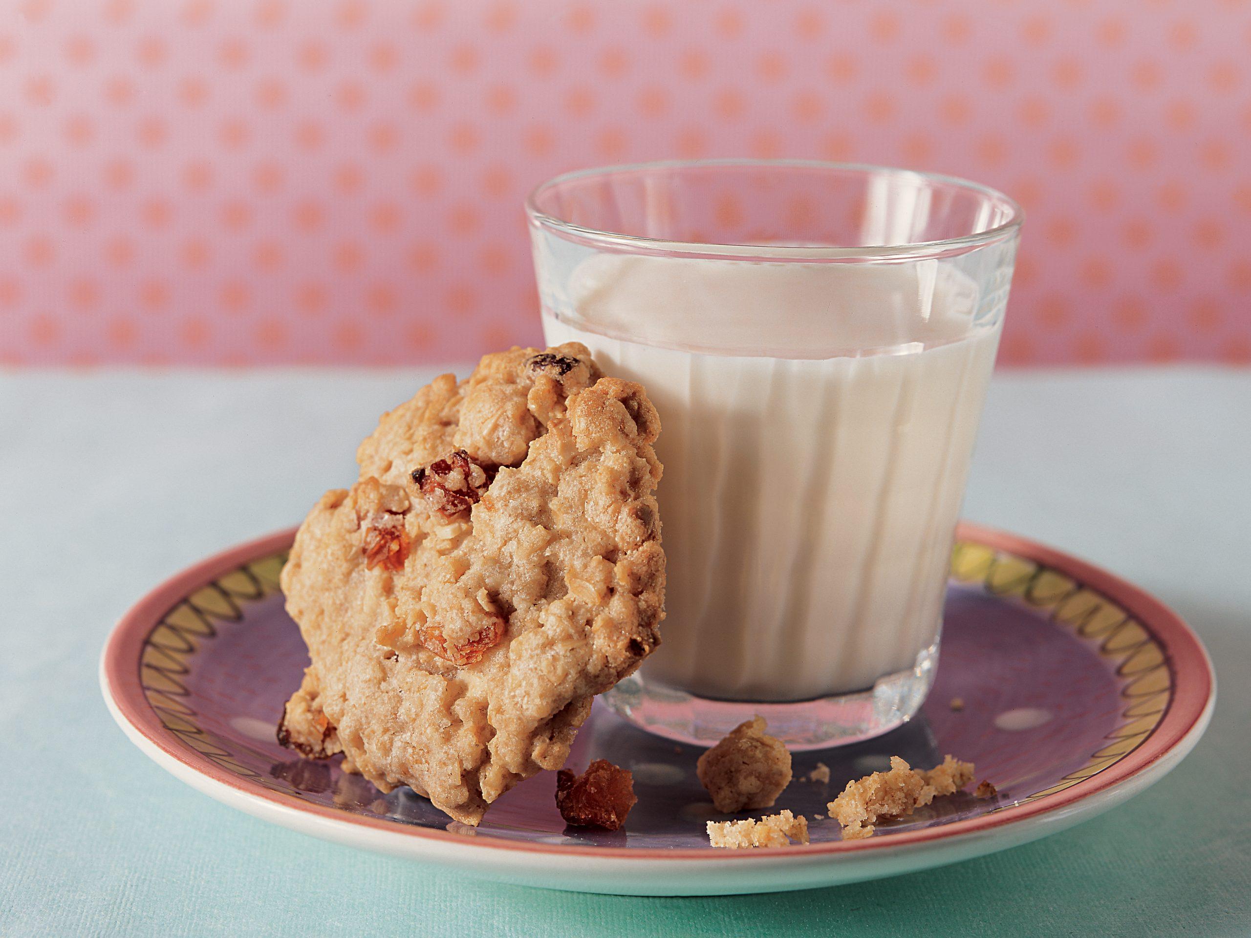 Haferflocken-Cookies mit Dörraprikosen