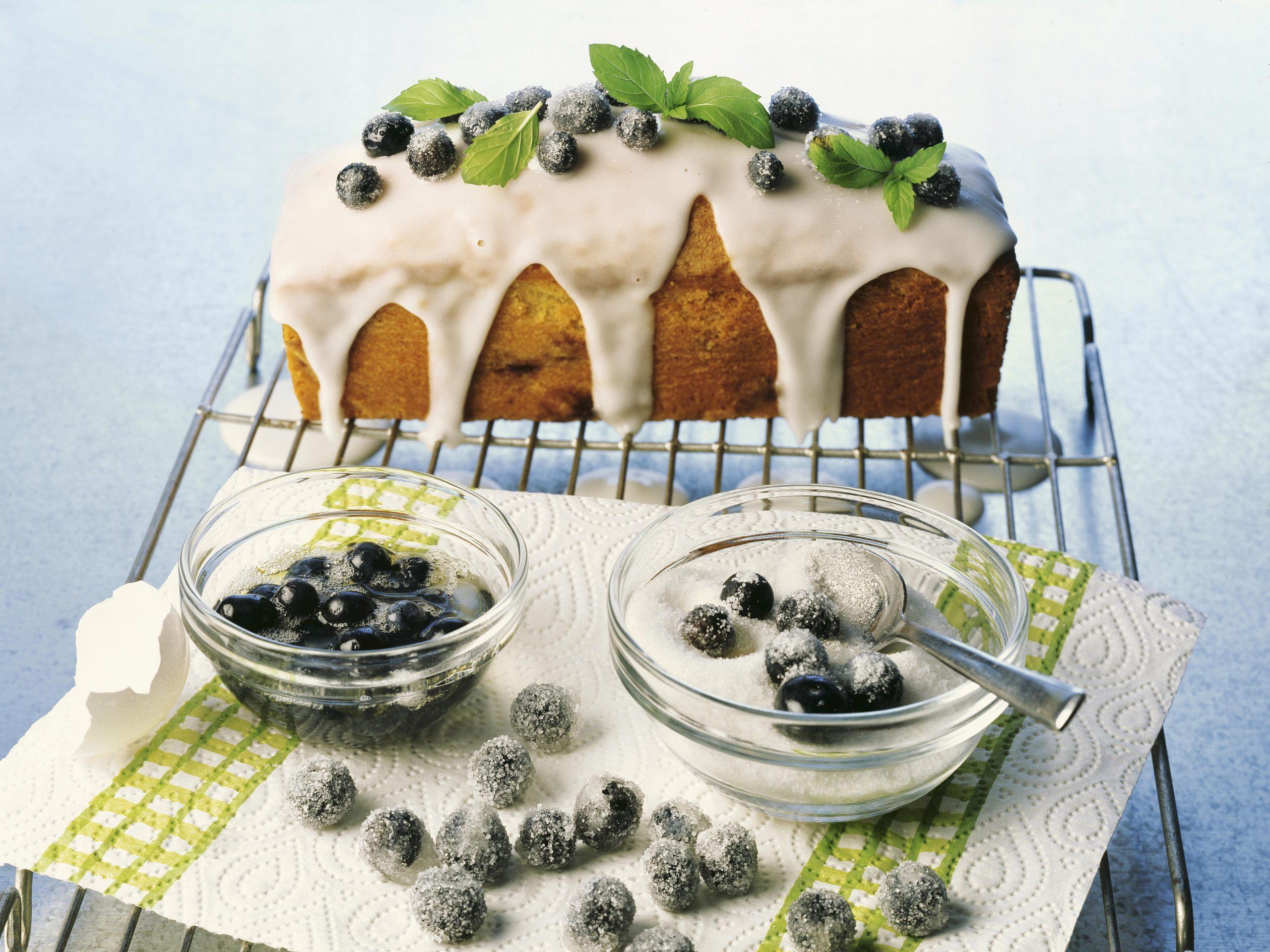 Heidelbeer-Cake