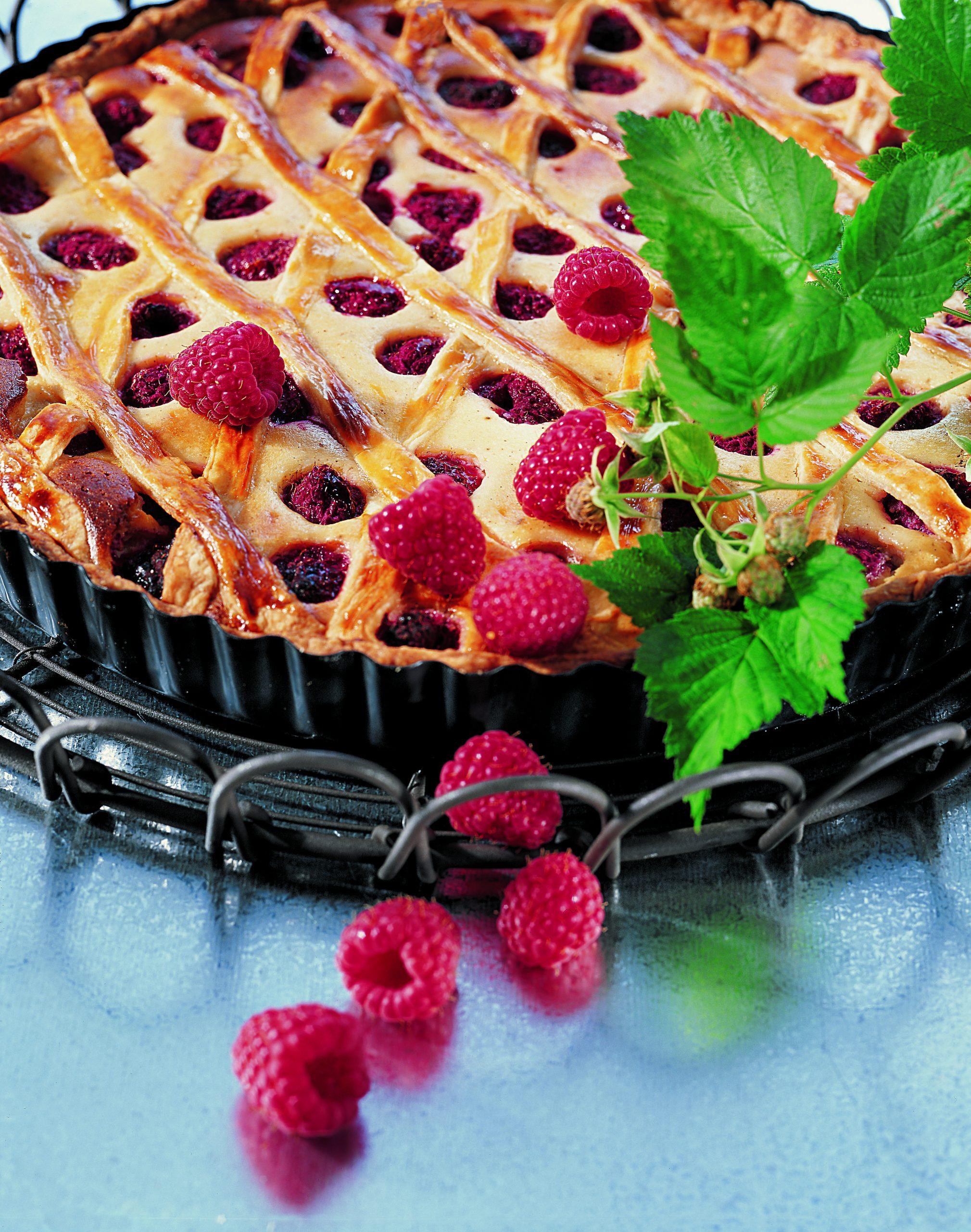 Himbeer-Ricotta-Kuchen