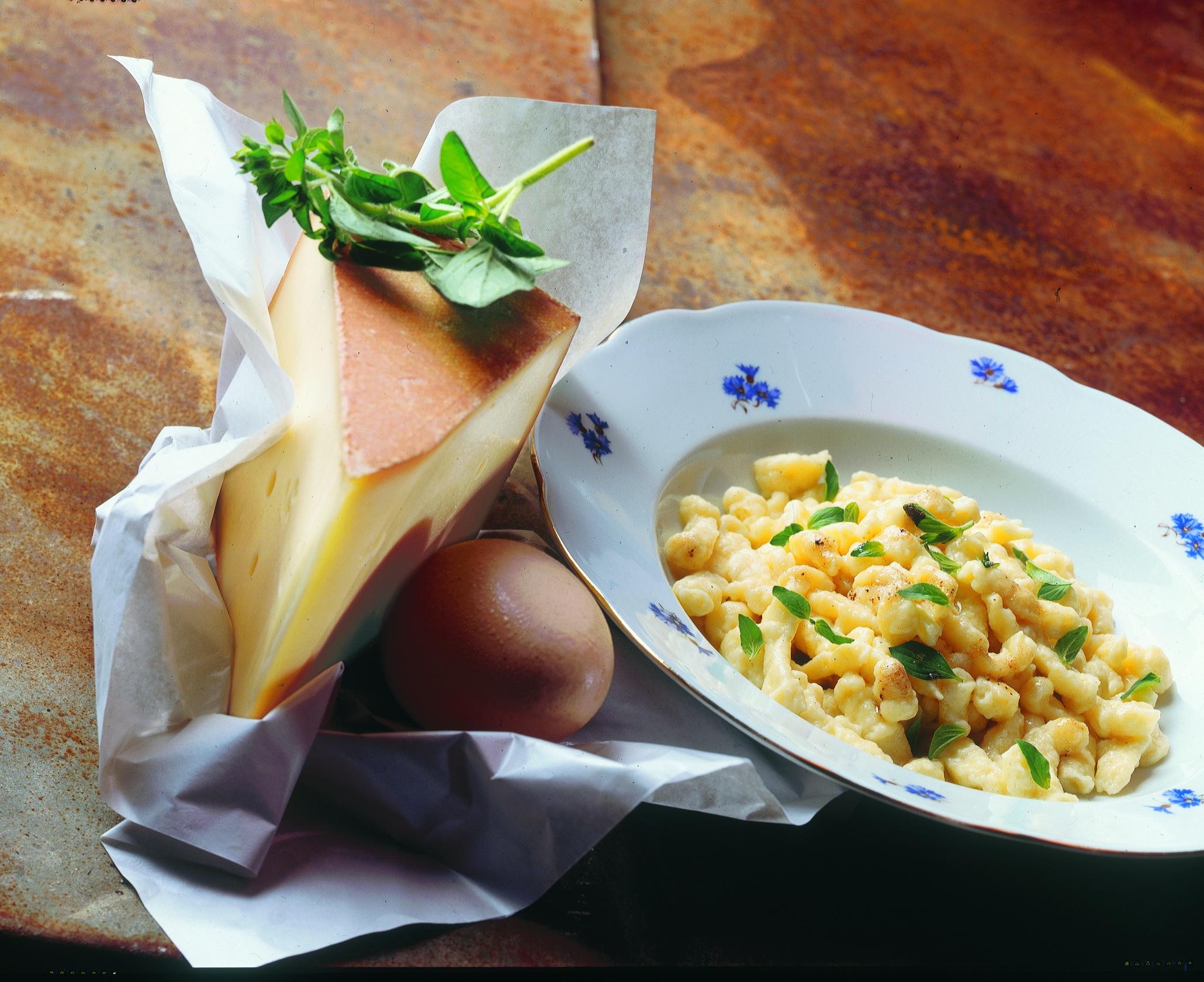 Kartoffel-Knöpfli mit Oregano-Butter