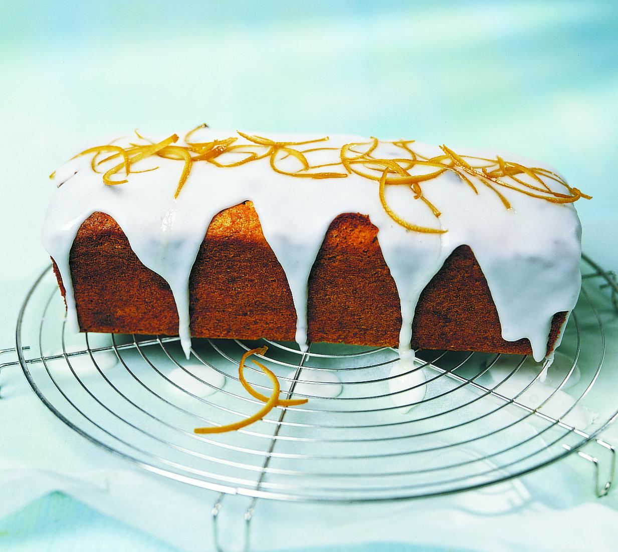 Cake au massepain et à la courge