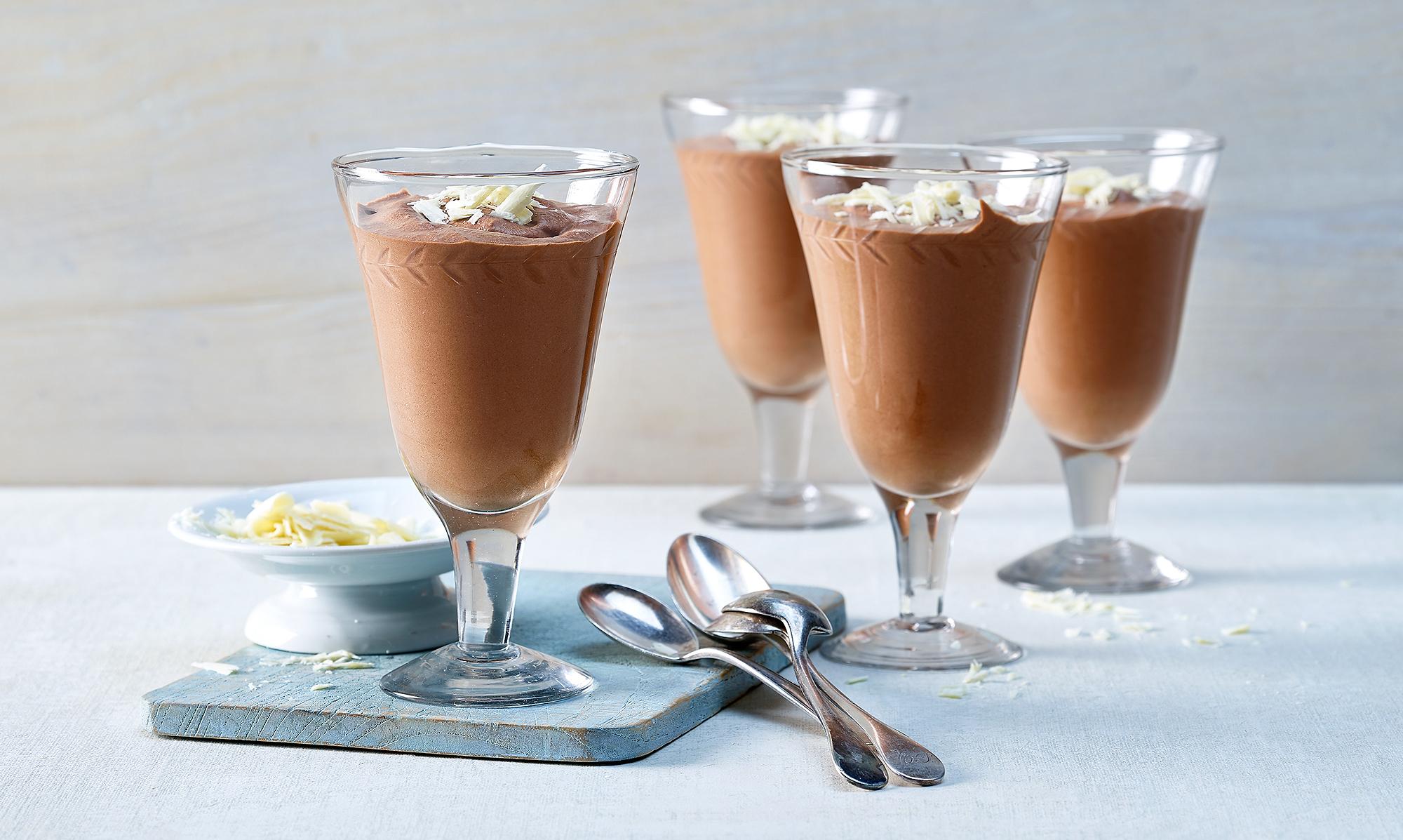 Mousse au Chocolat (Schoggimousse)