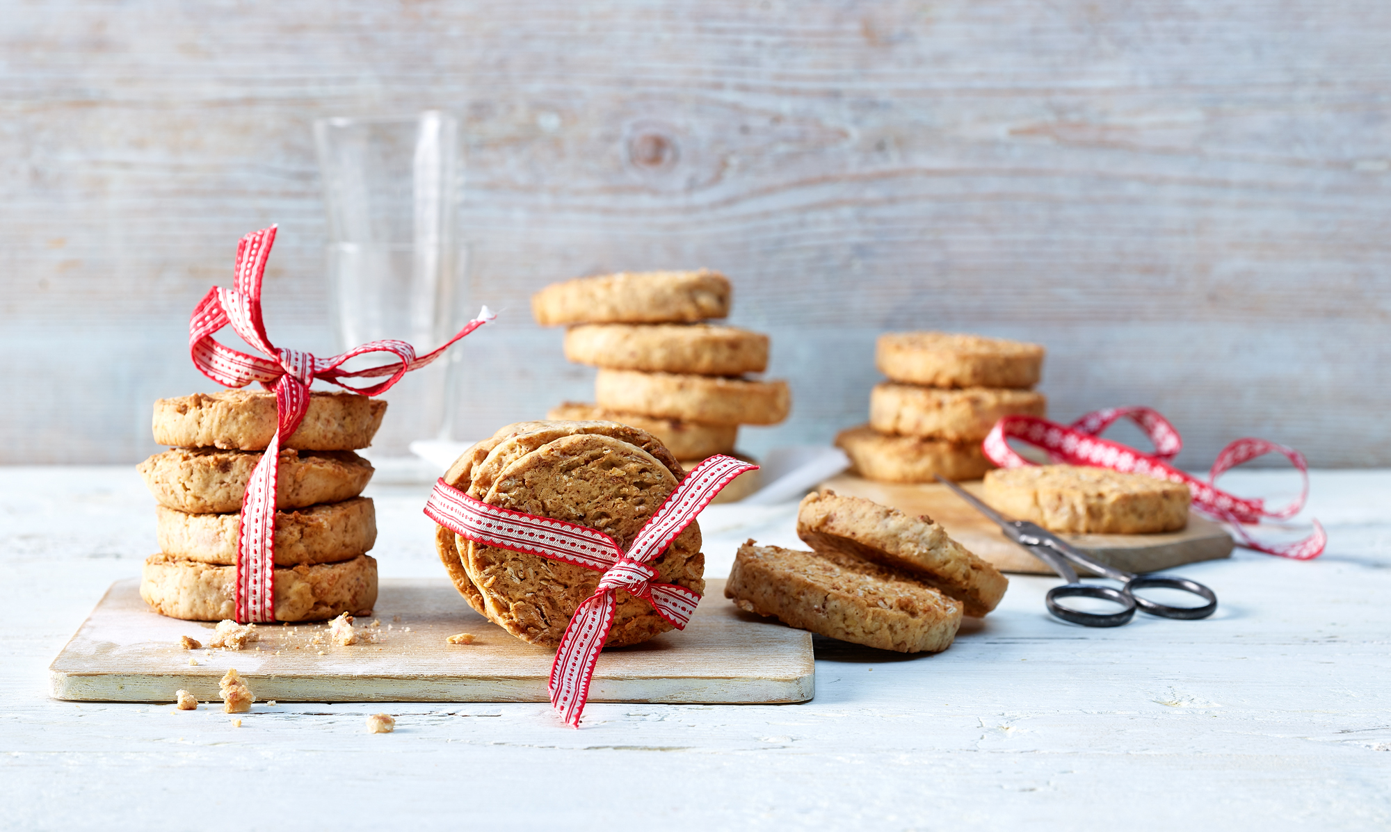 Müesli-Cookies mit Magerquark