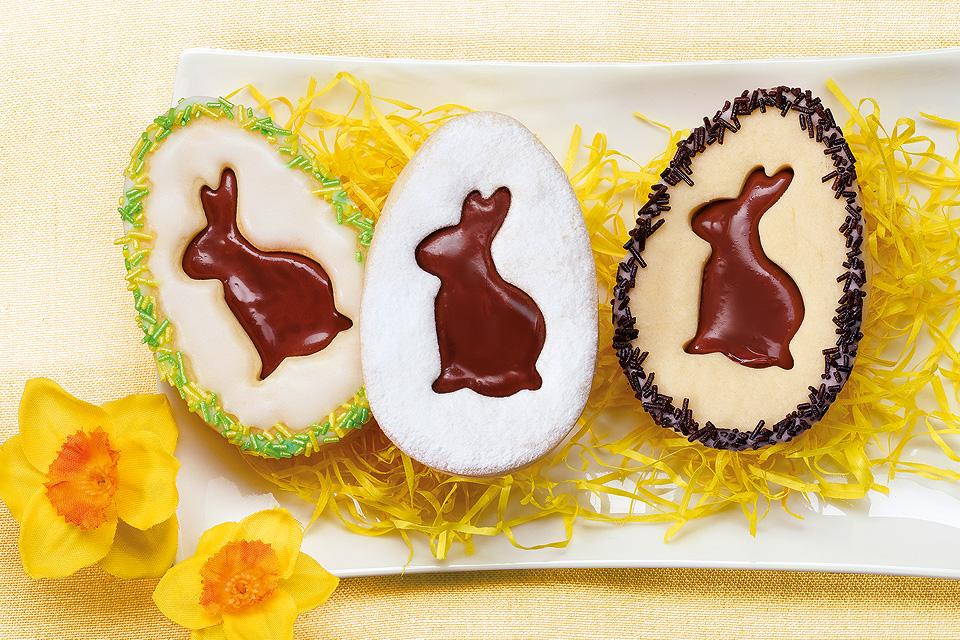 Miroirs de Pâques fourrés au chocolat