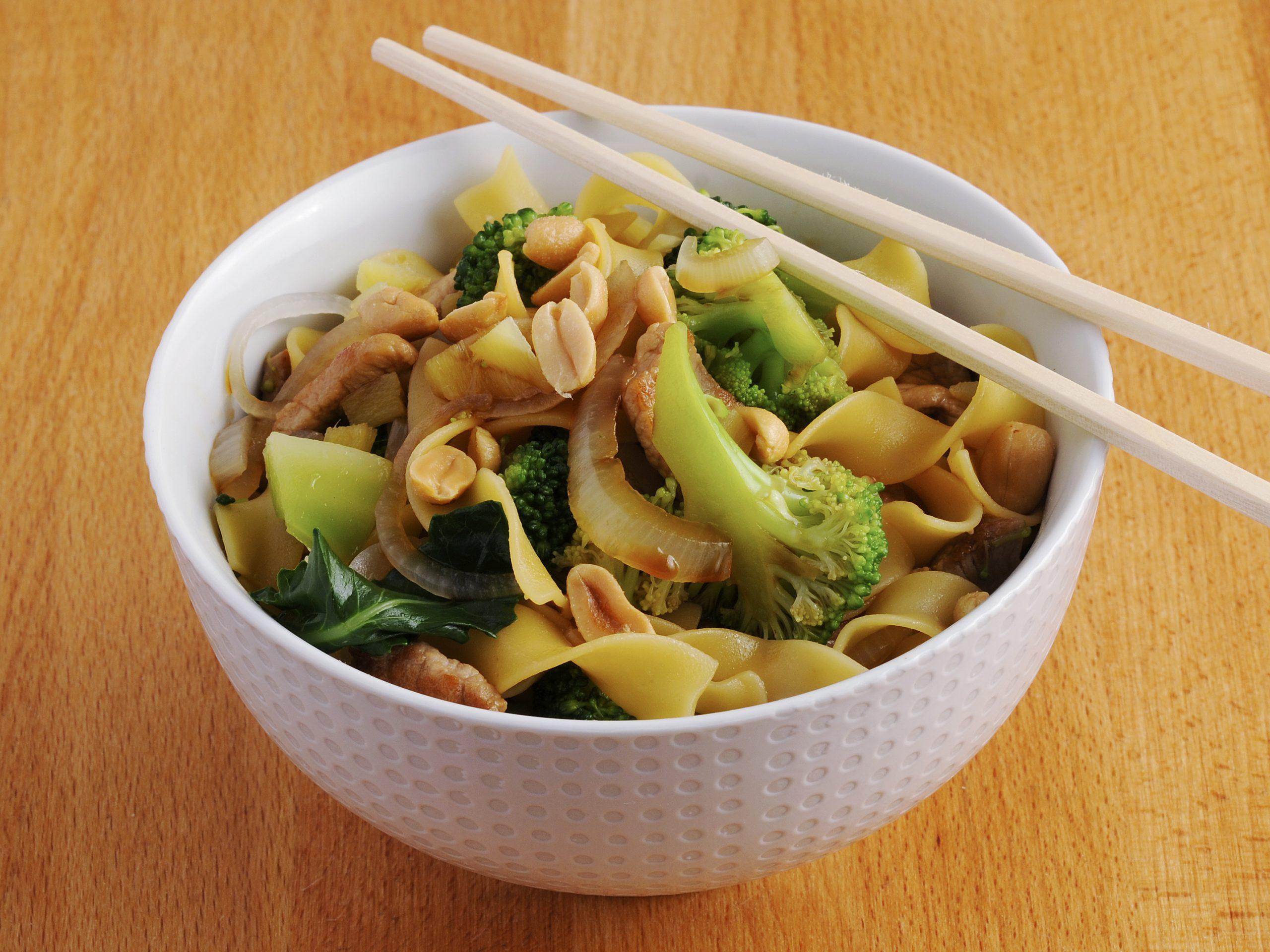 One pot pasta asiatique