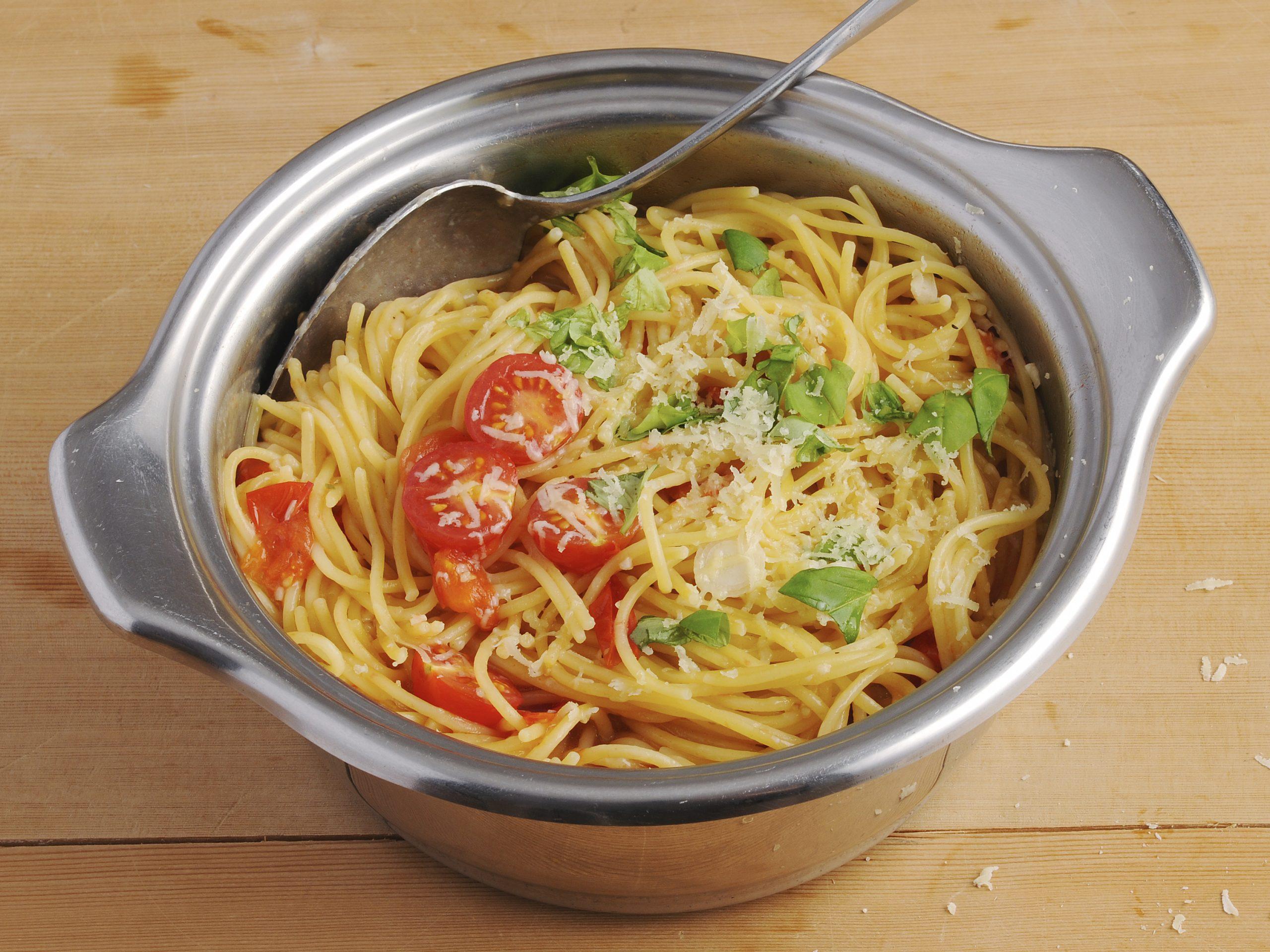 One-Pot-Pasta mit Tomaten