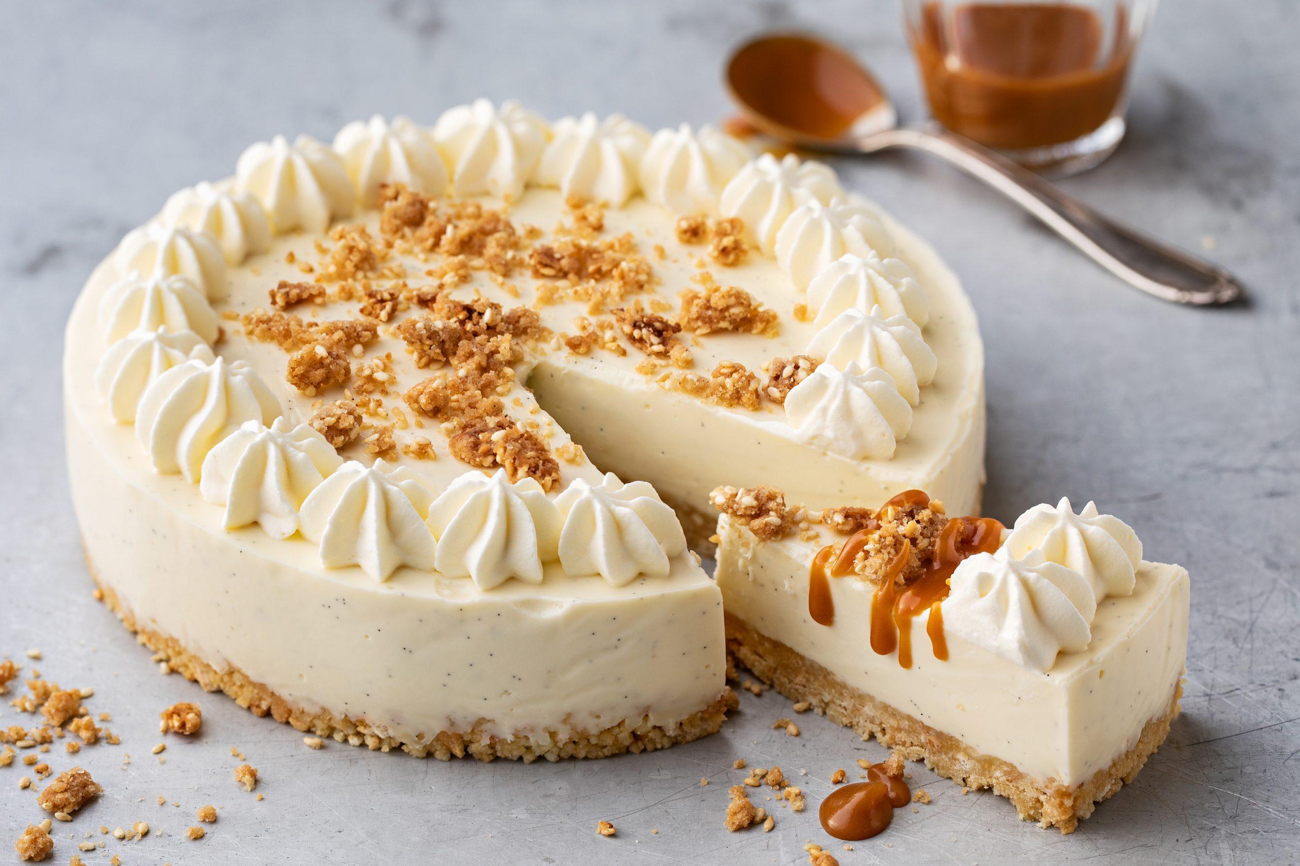 Panna-cotta-Torte (ohne backen)