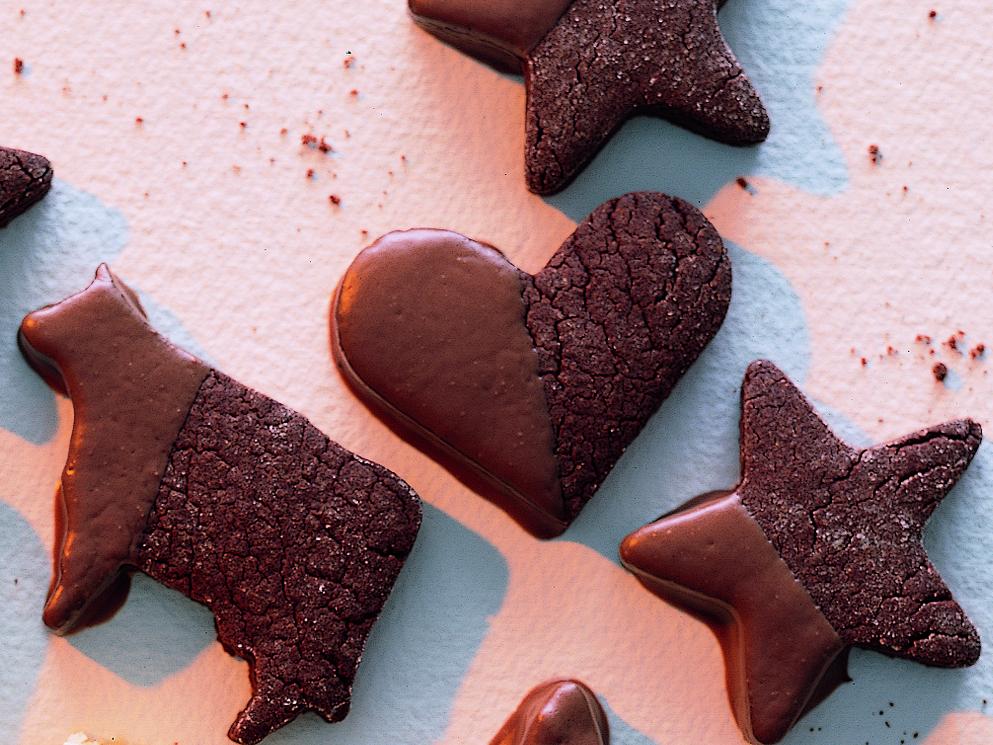 Biscuits au chocolat et aux épices