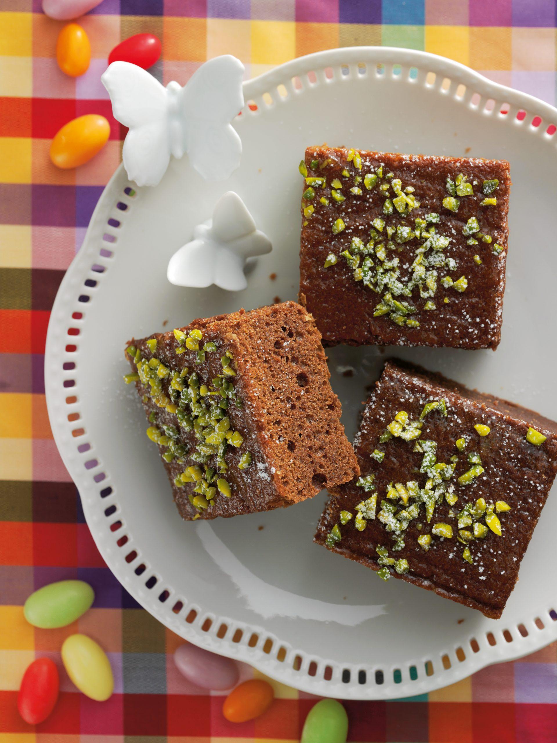 Brownies pistache