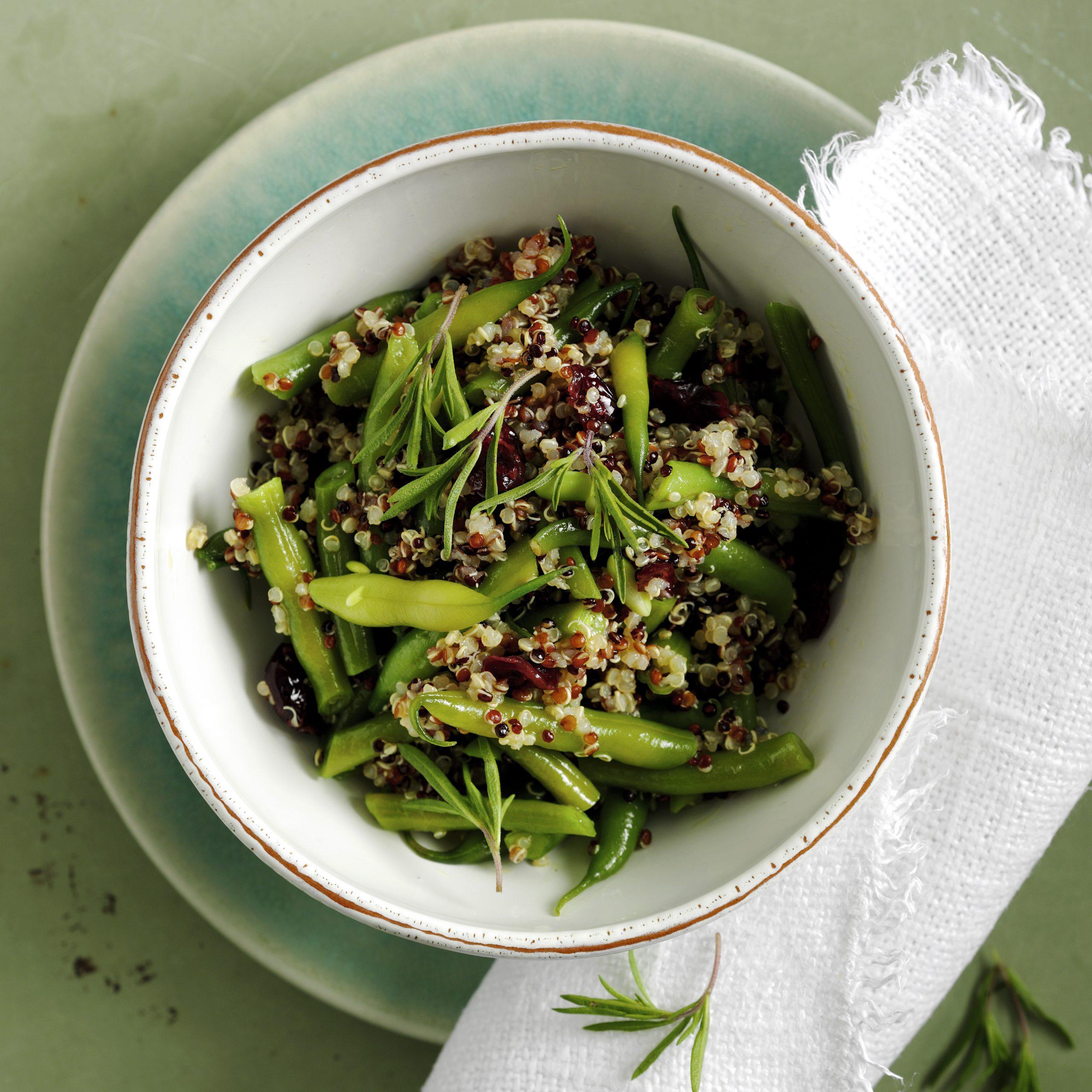 Quinoa-Bohnen-Salat