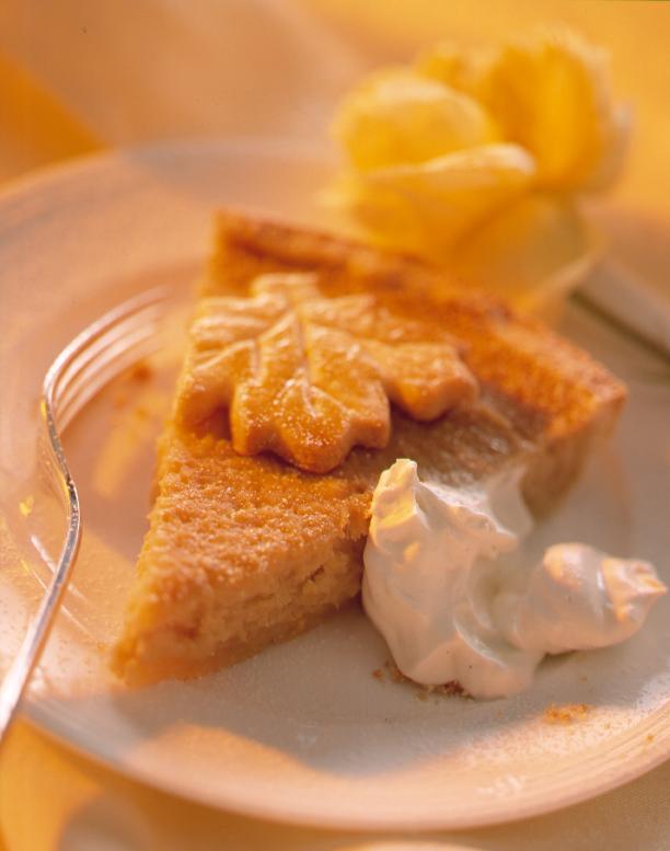 Quittenkuchen mit Honigrahm