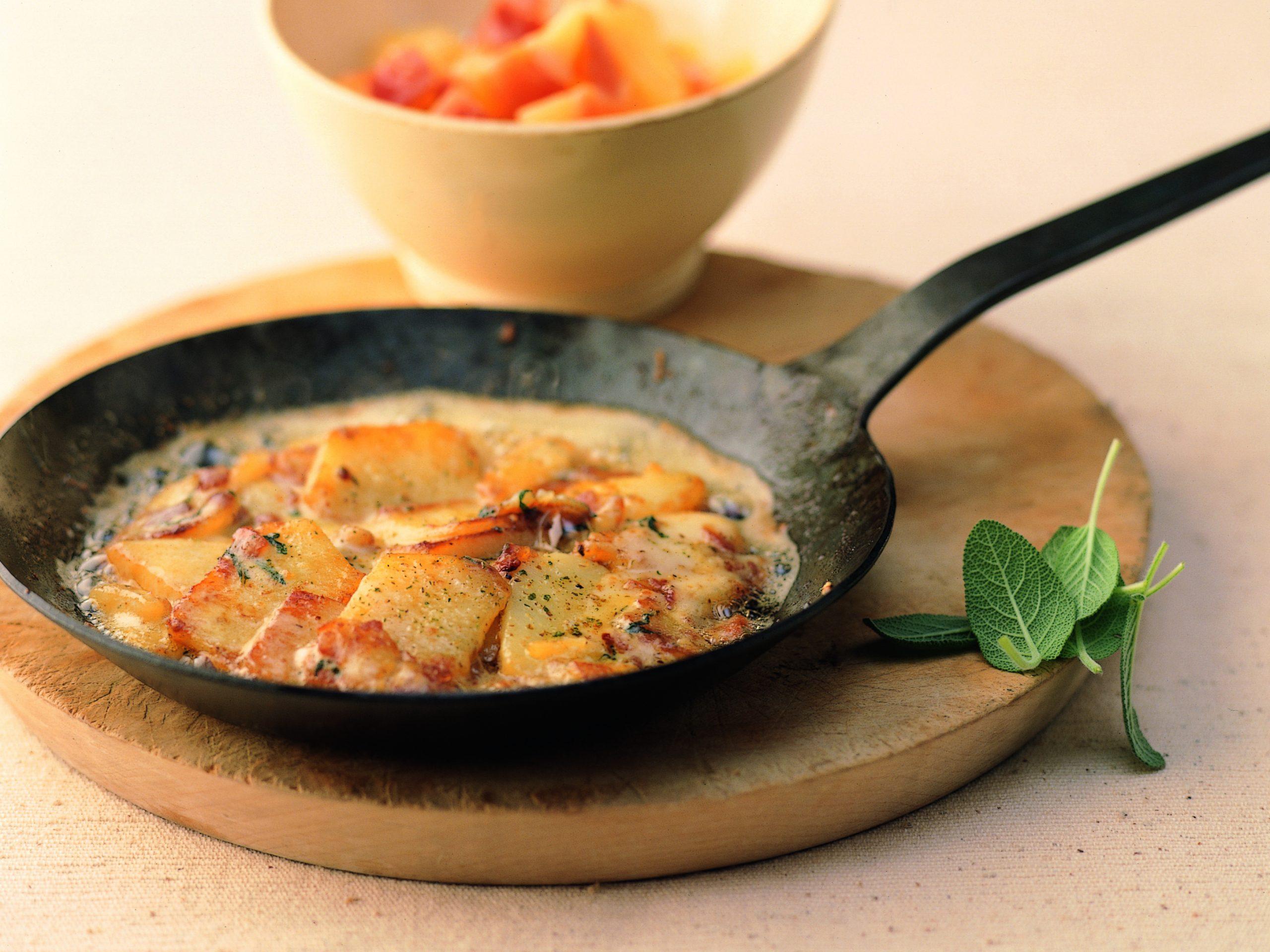 Raclette-Kartoffelpfanne