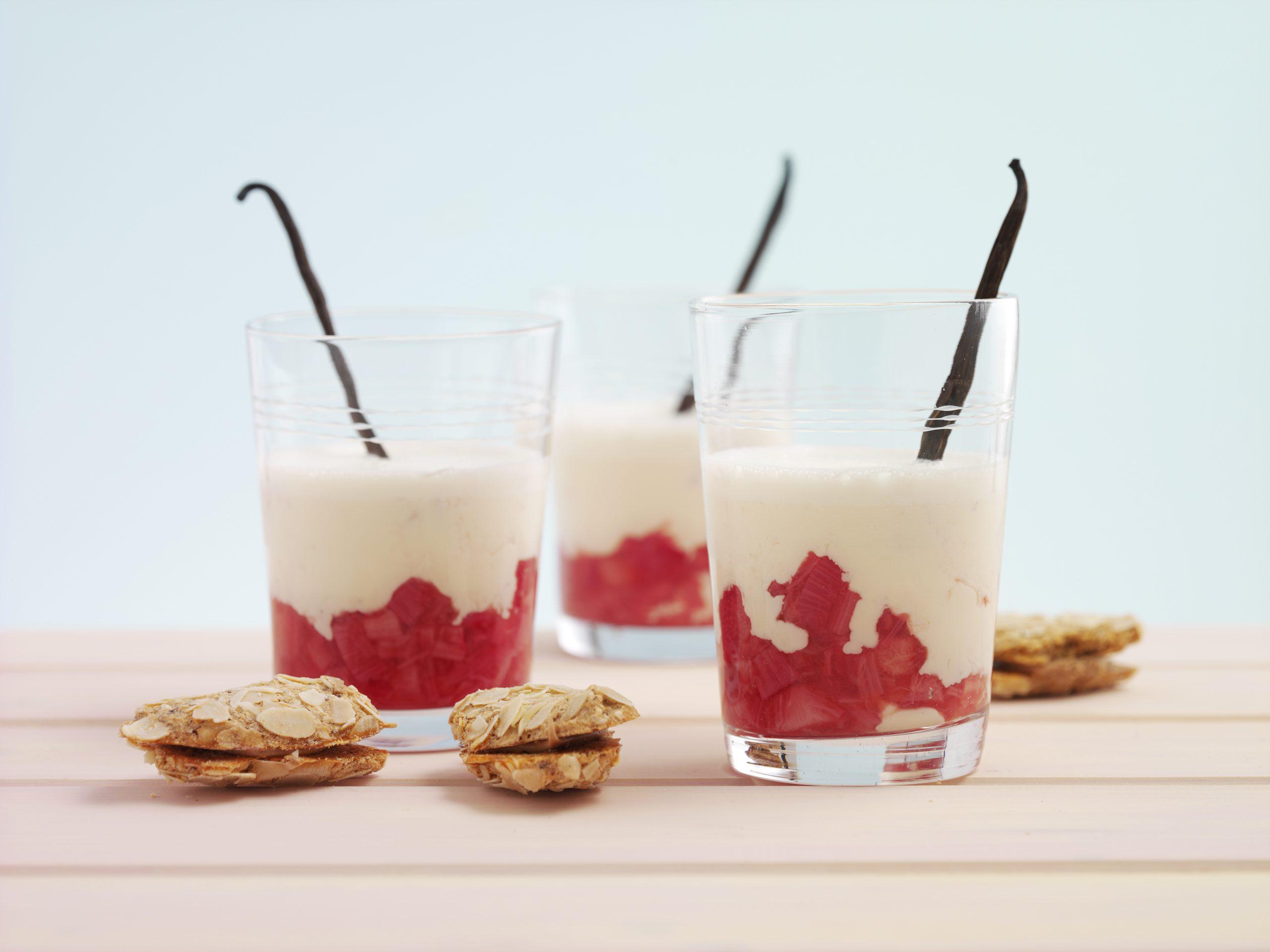 Rhabarber-Vanille-Smoothie