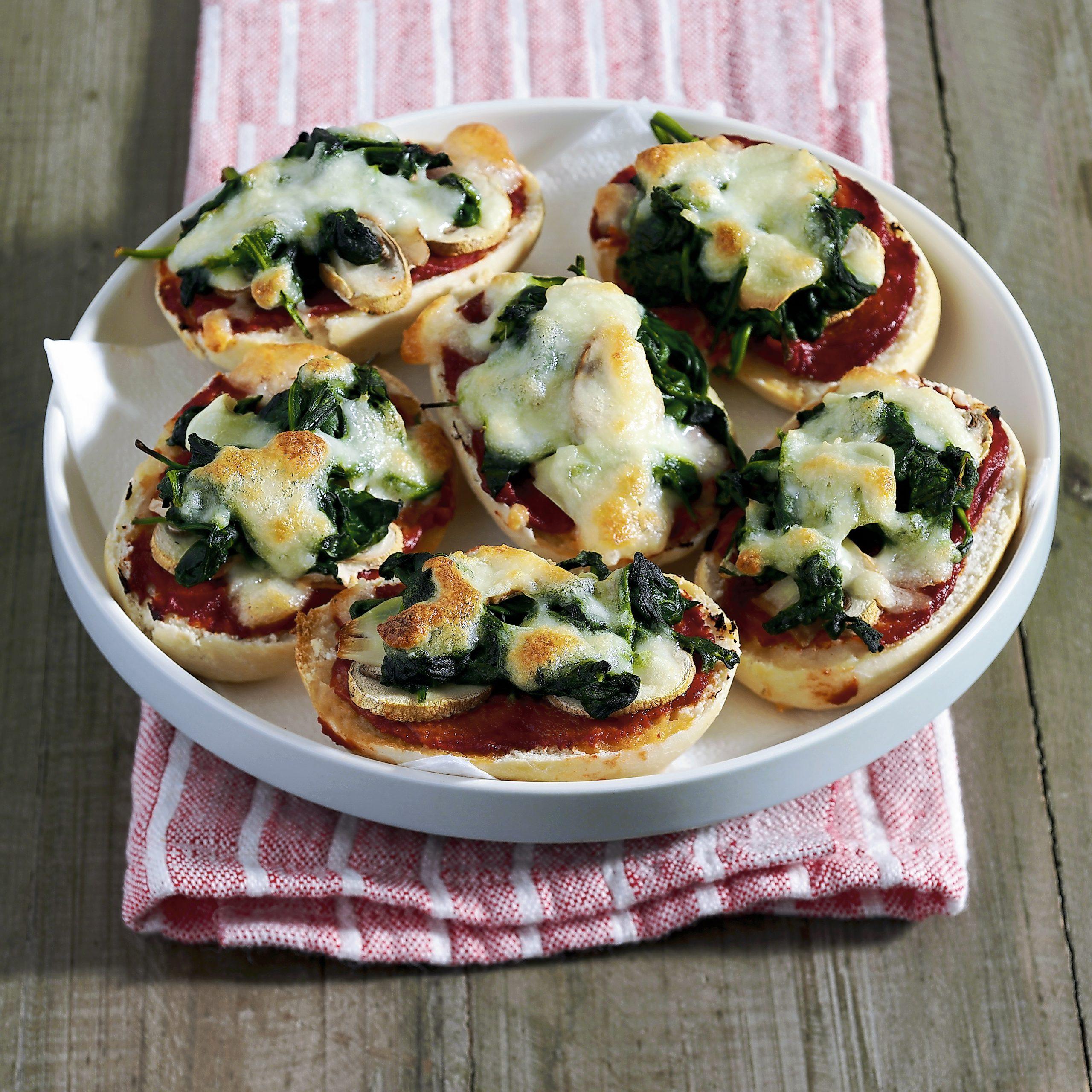 Spinat-Panizza