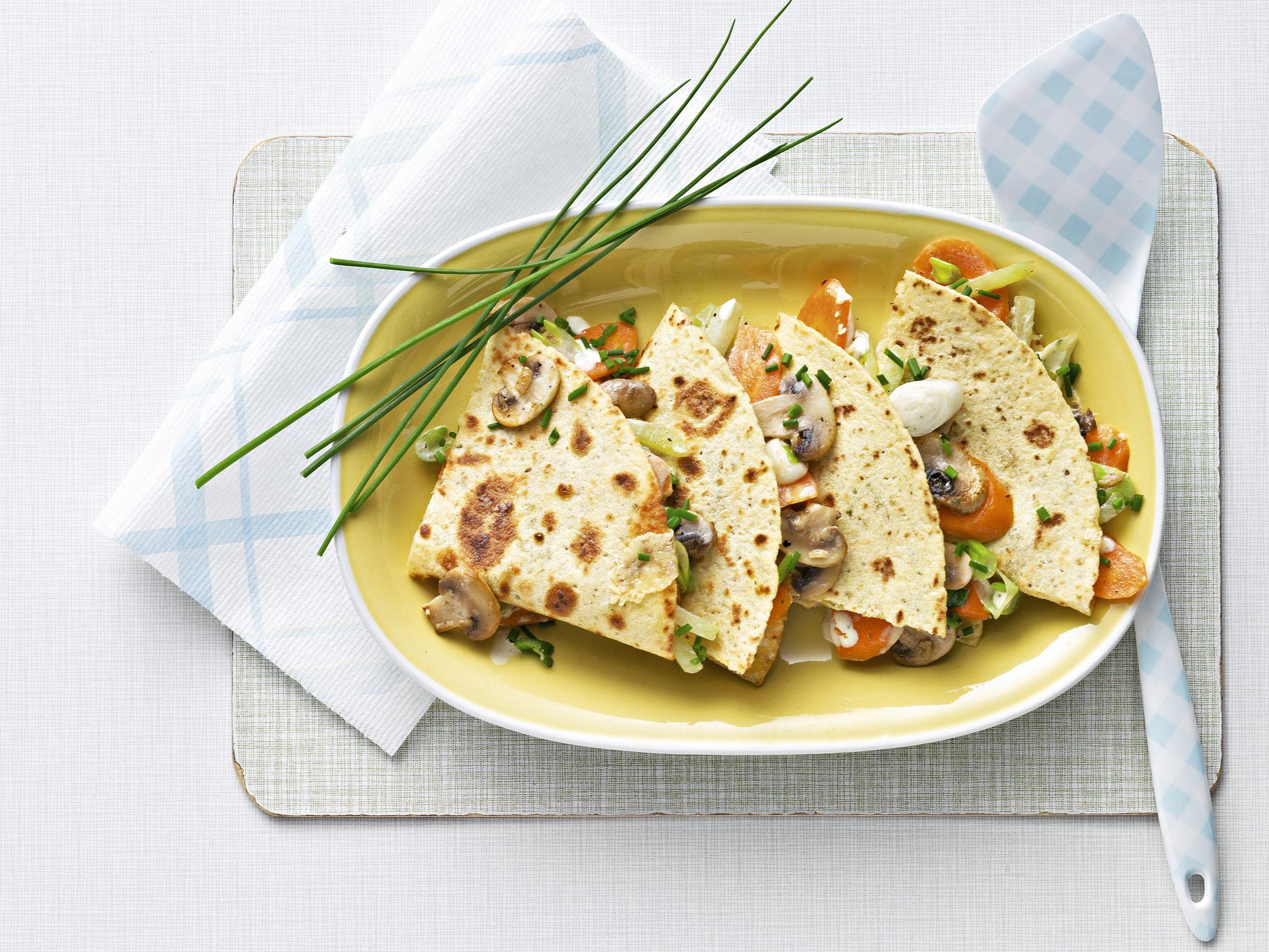 Tortilla-Gemüse-Tasche