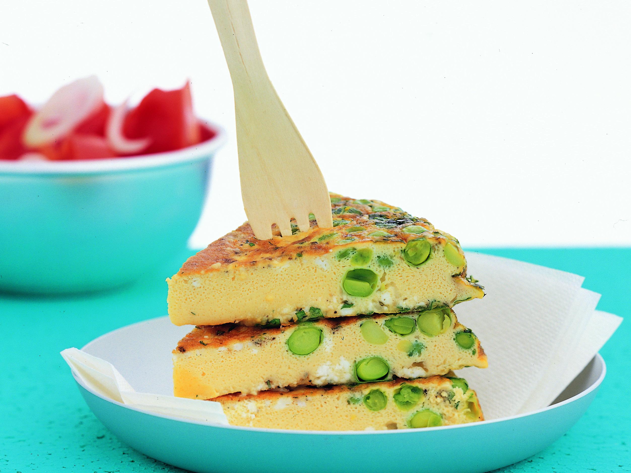 Tortilla (sans pomme de terre)
