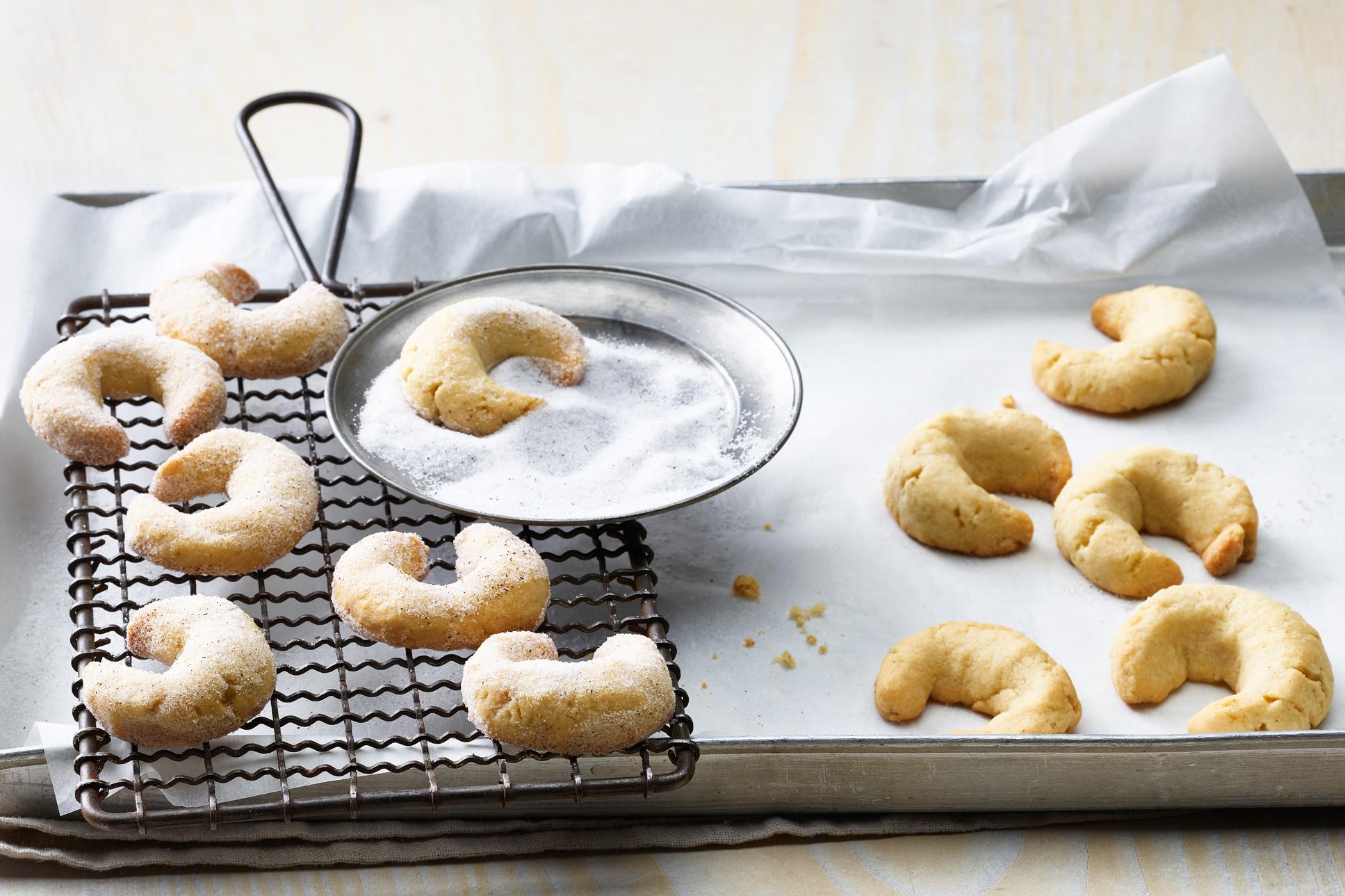 Croissants à la vanille