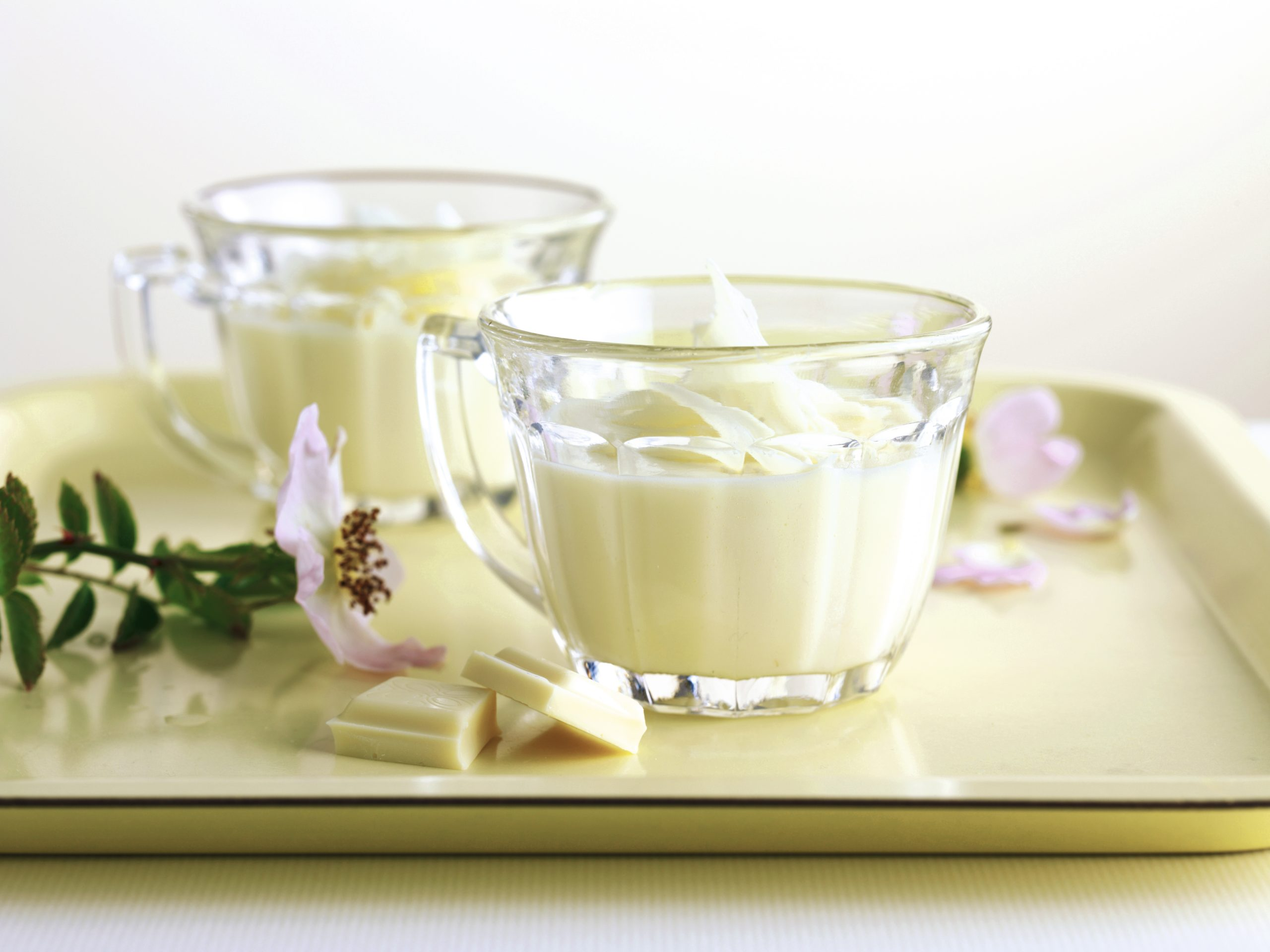 Weisse Schokoladencrème