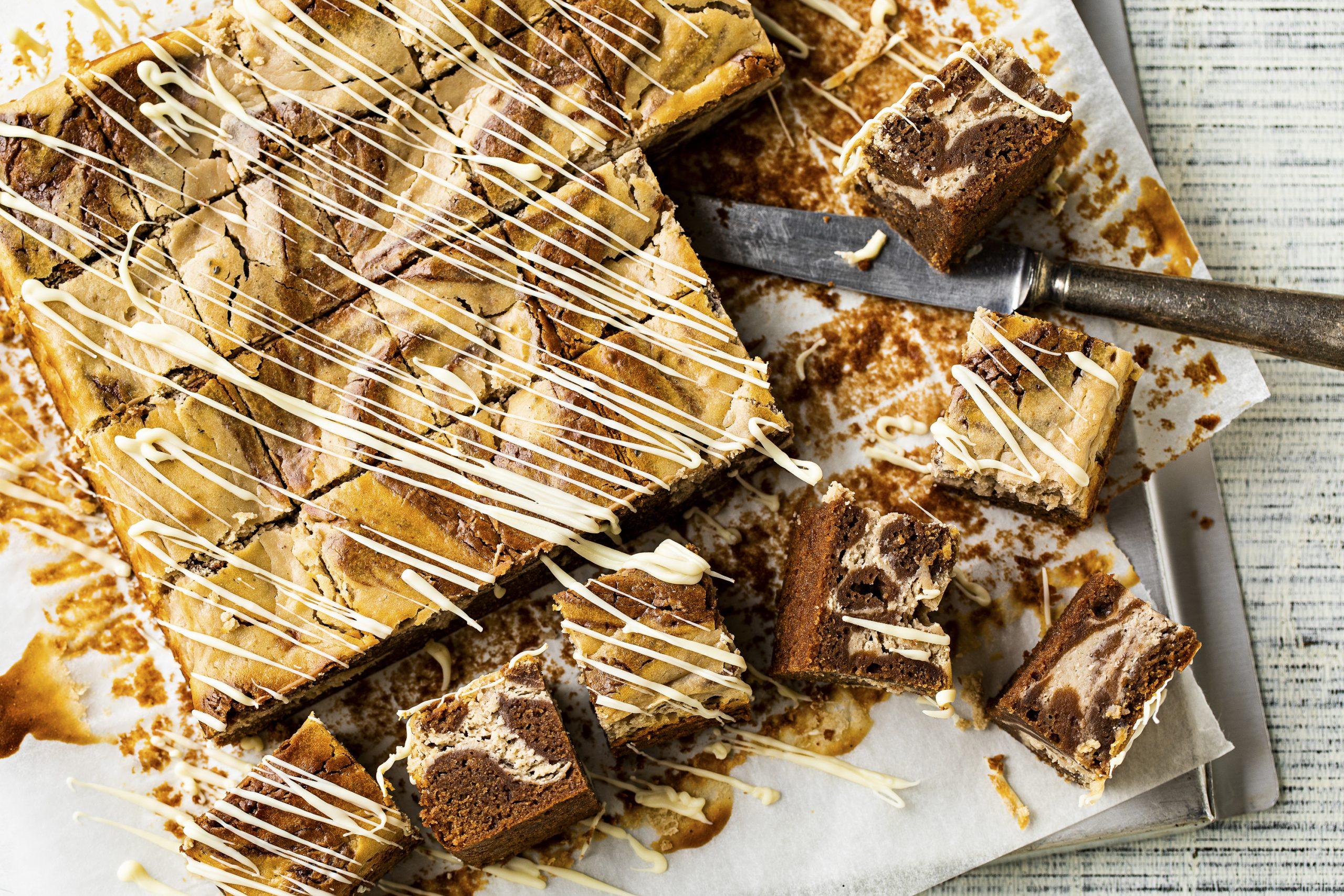 Brownies au cheesecake et aux marrons